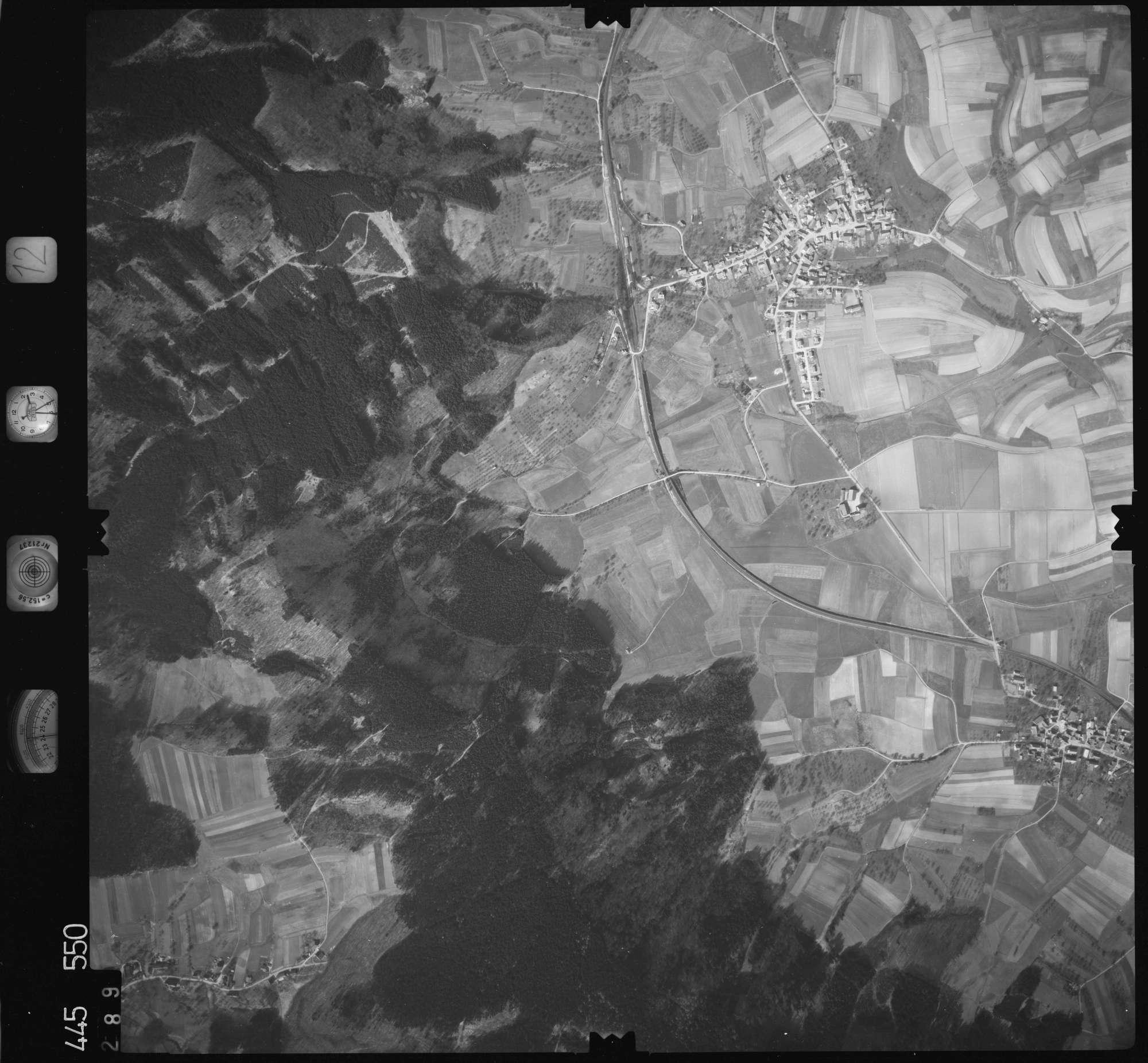 Luftbild: Film 12 Bildnr. 289, Bild 1