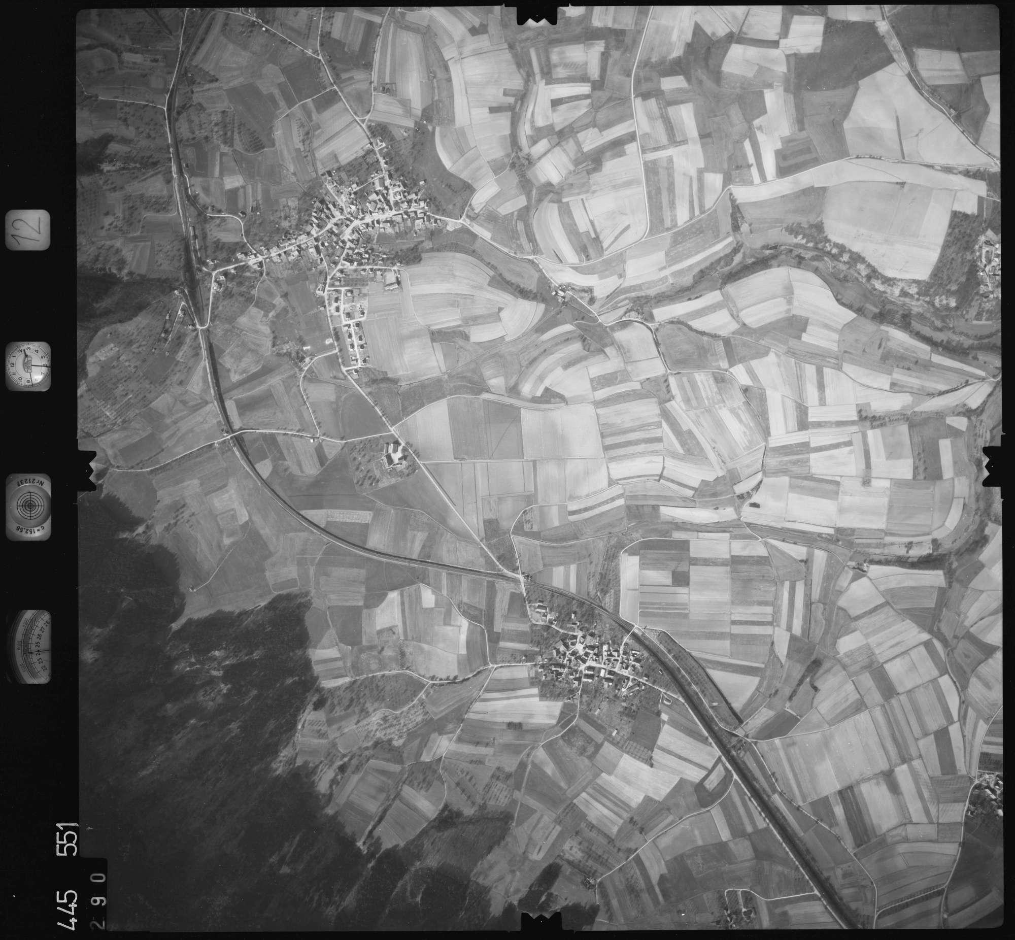 Luftbild: Film 12 Bildnr. 290, Bild 1