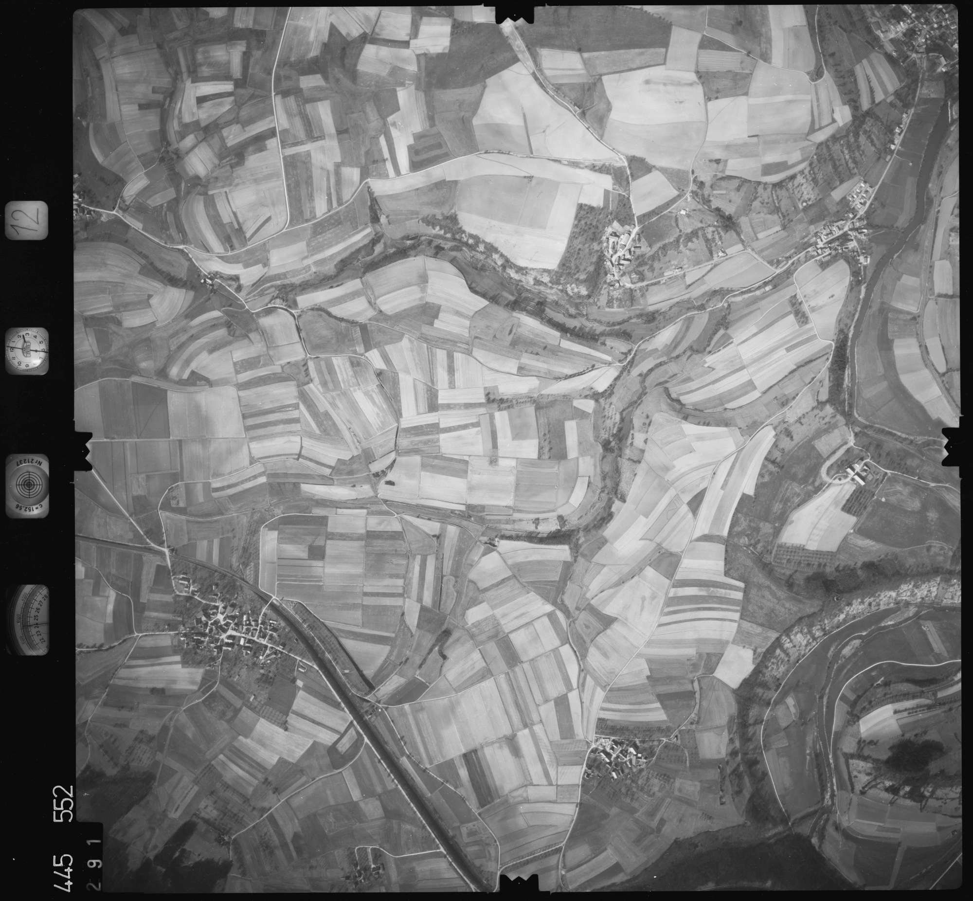 Luftbild: Film 12 Bildnr. 291, Bild 1