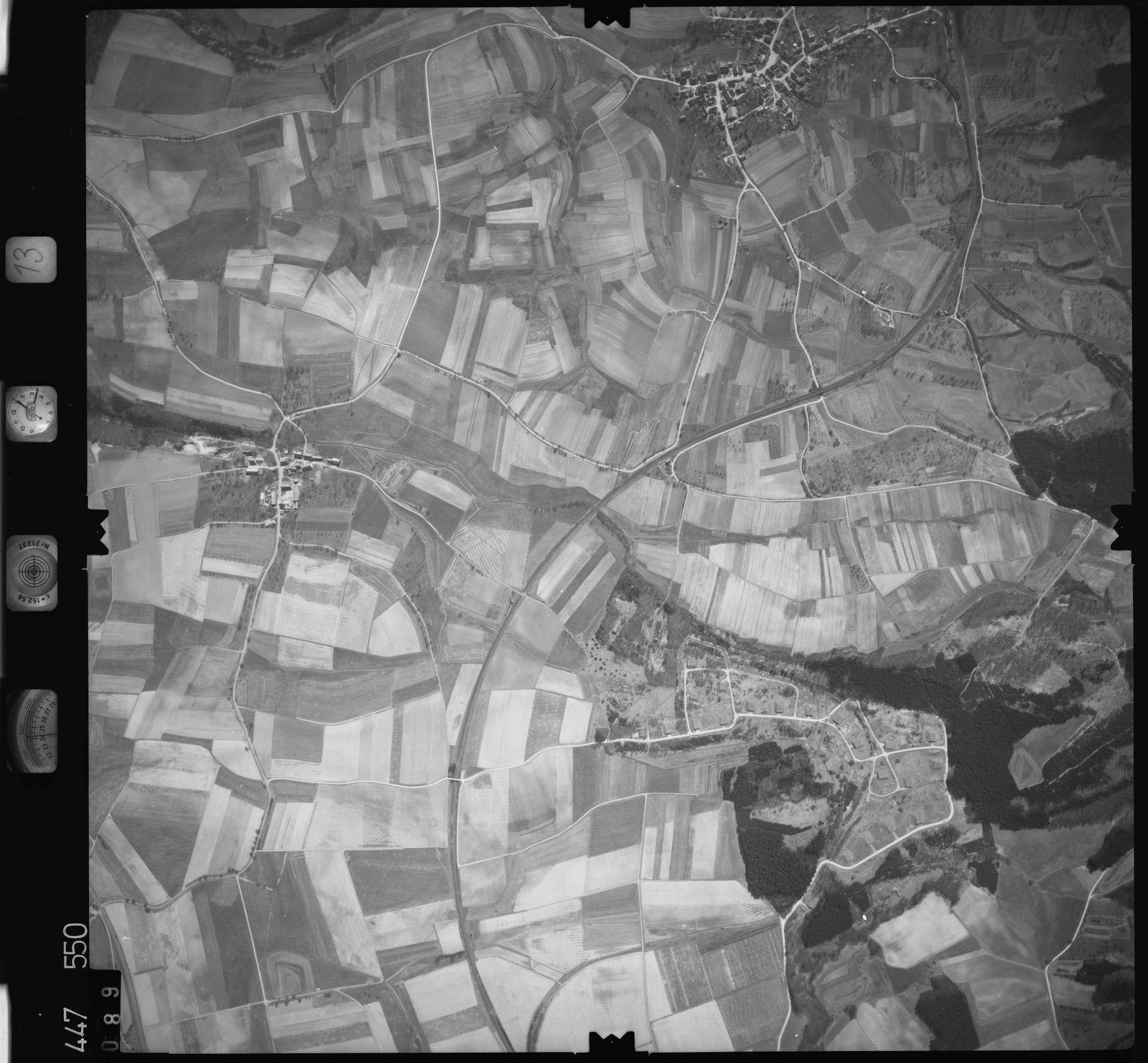 Luftbild: Film 13 Bildnr. 89, Bild 1