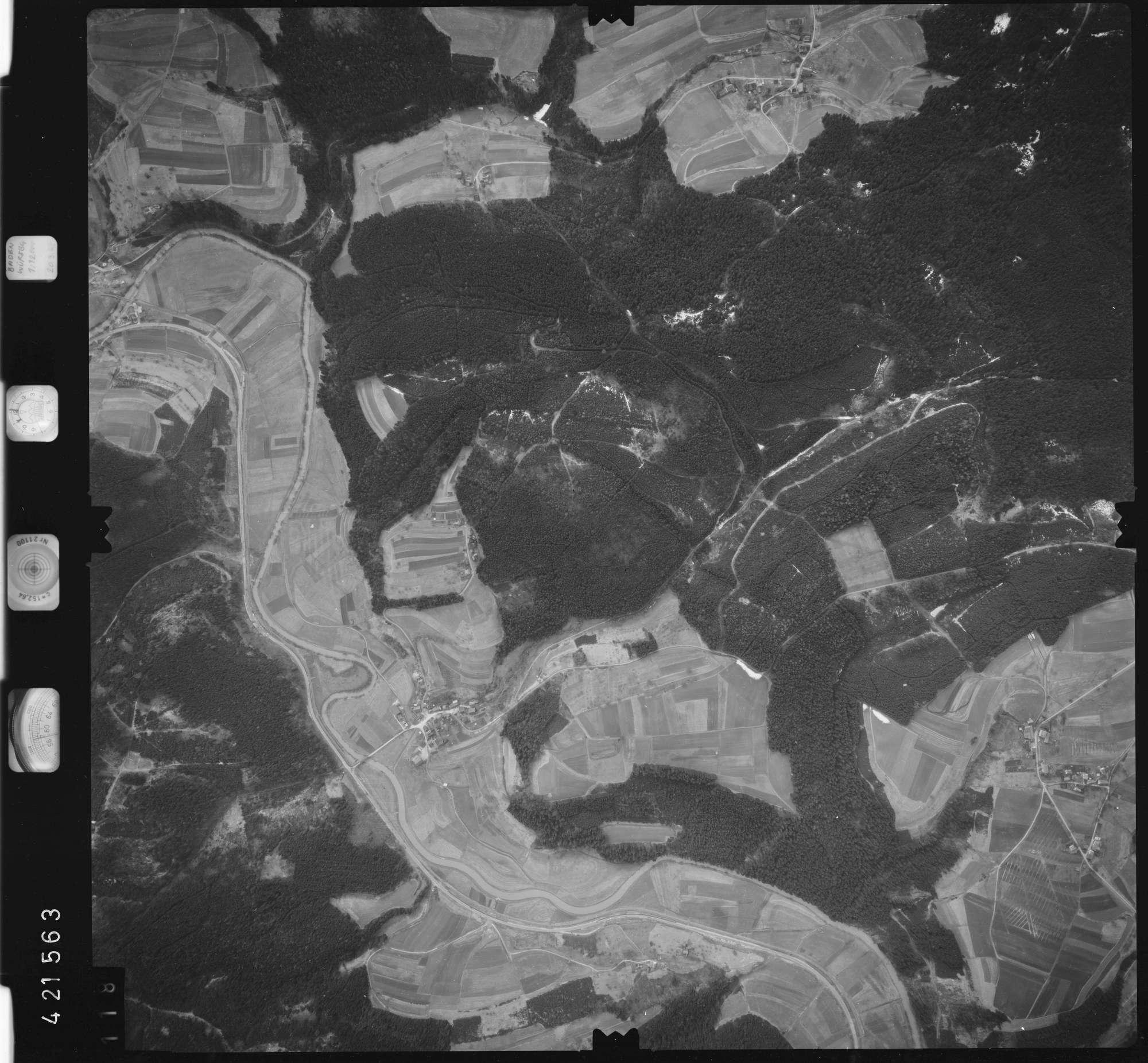 Luftbild: Film 1 Bildnr. 118, Bild 1