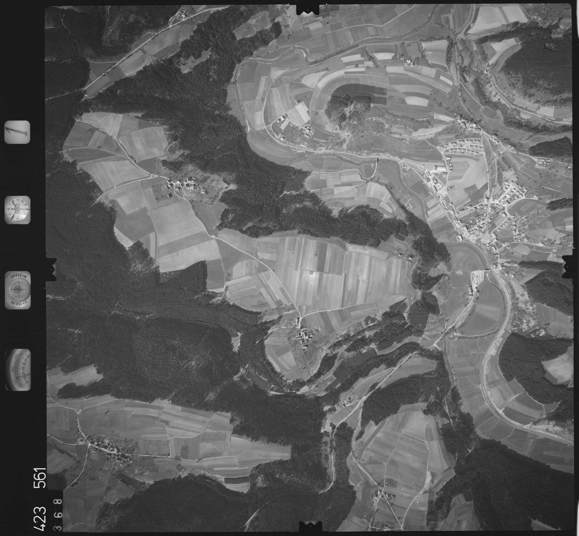 Luftbild: Film 1 Bildnr. 368, Bild 1