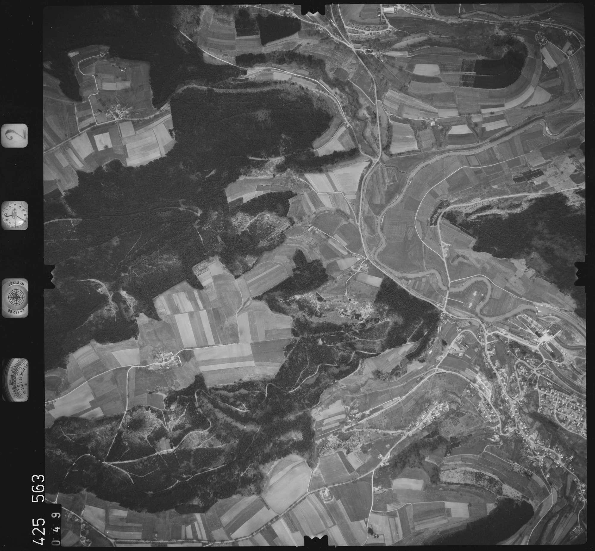Luftbild: Film 2 Bildnr. 49, Bild 1