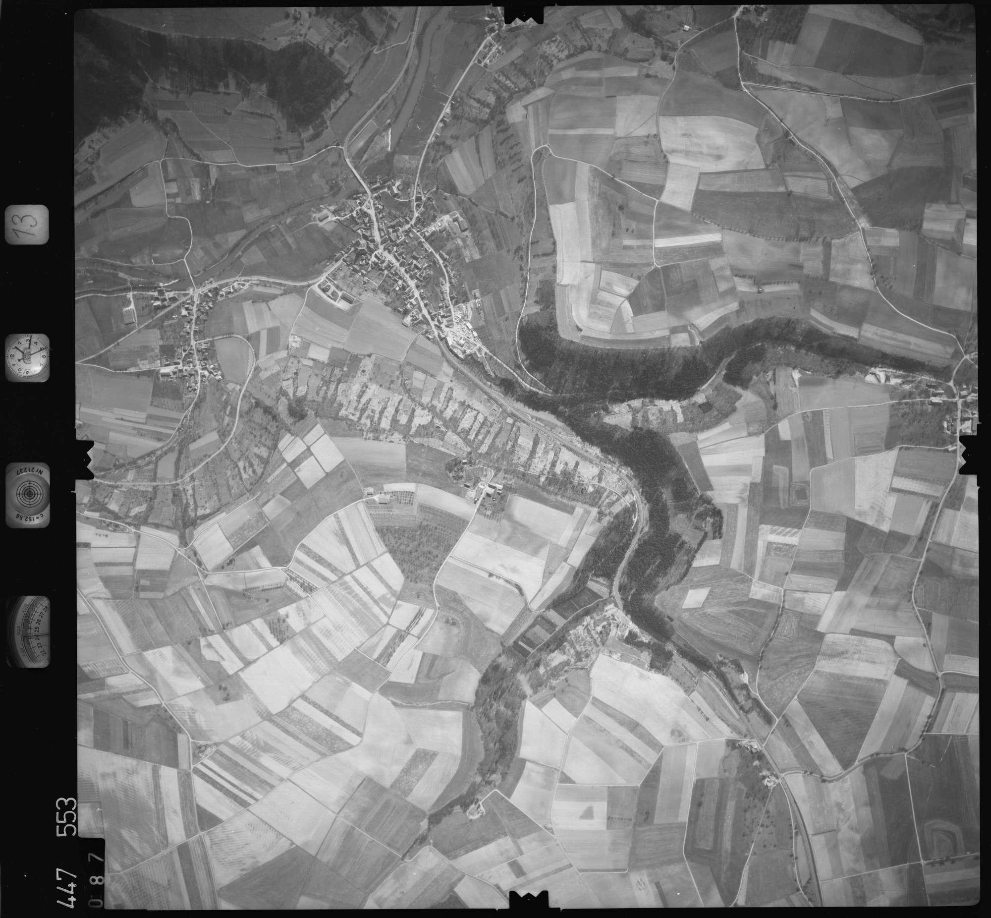Luftbild: Film 13 Bildnr. 87, Bild 1