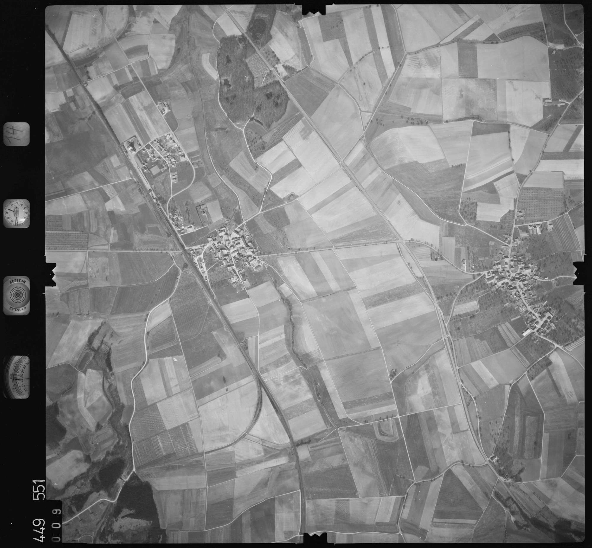 Luftbild: Film 14 Bildnr. 9, Bild 1