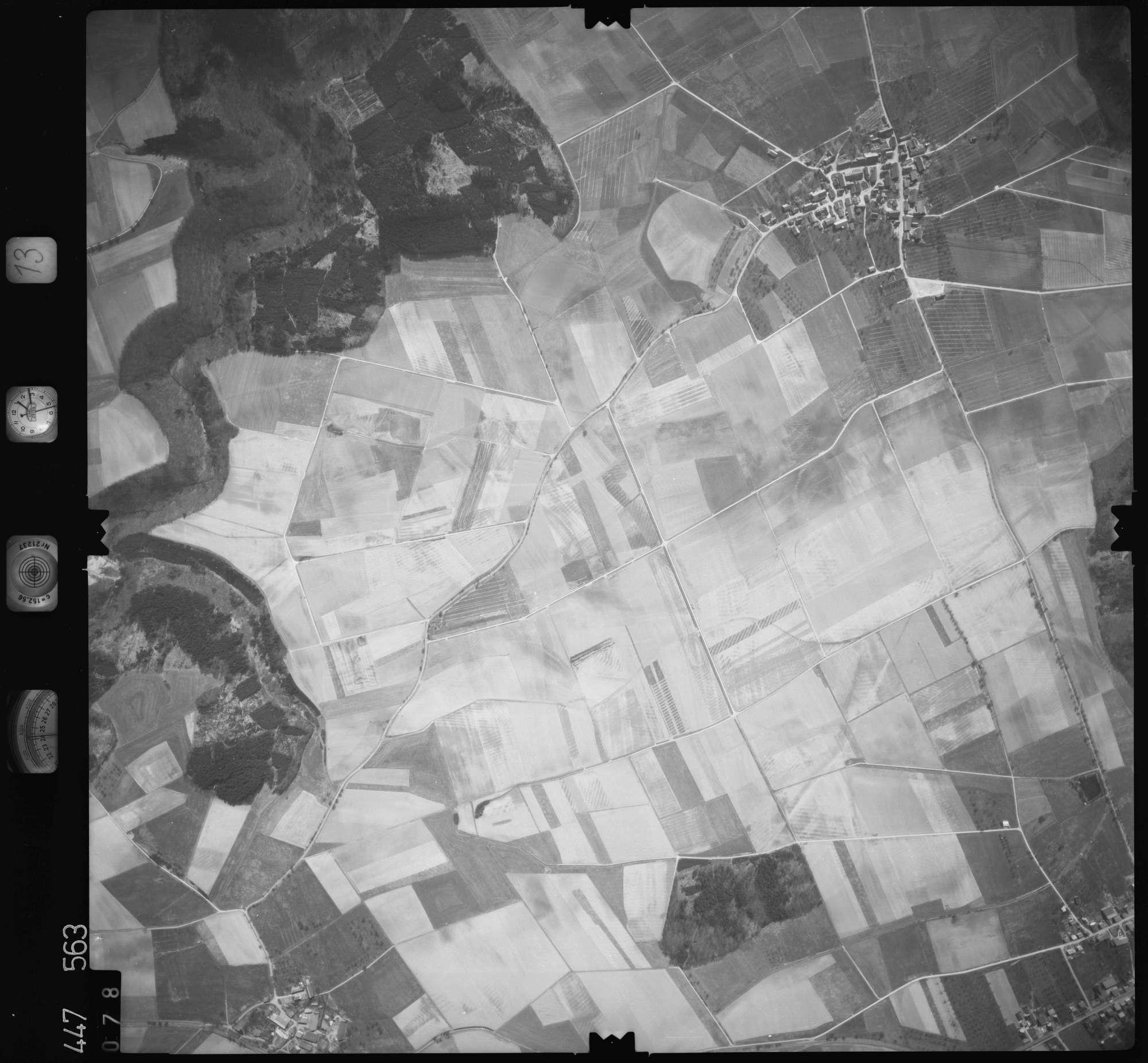Luftbild: Film 13 Bildnr. 78, Bild 1