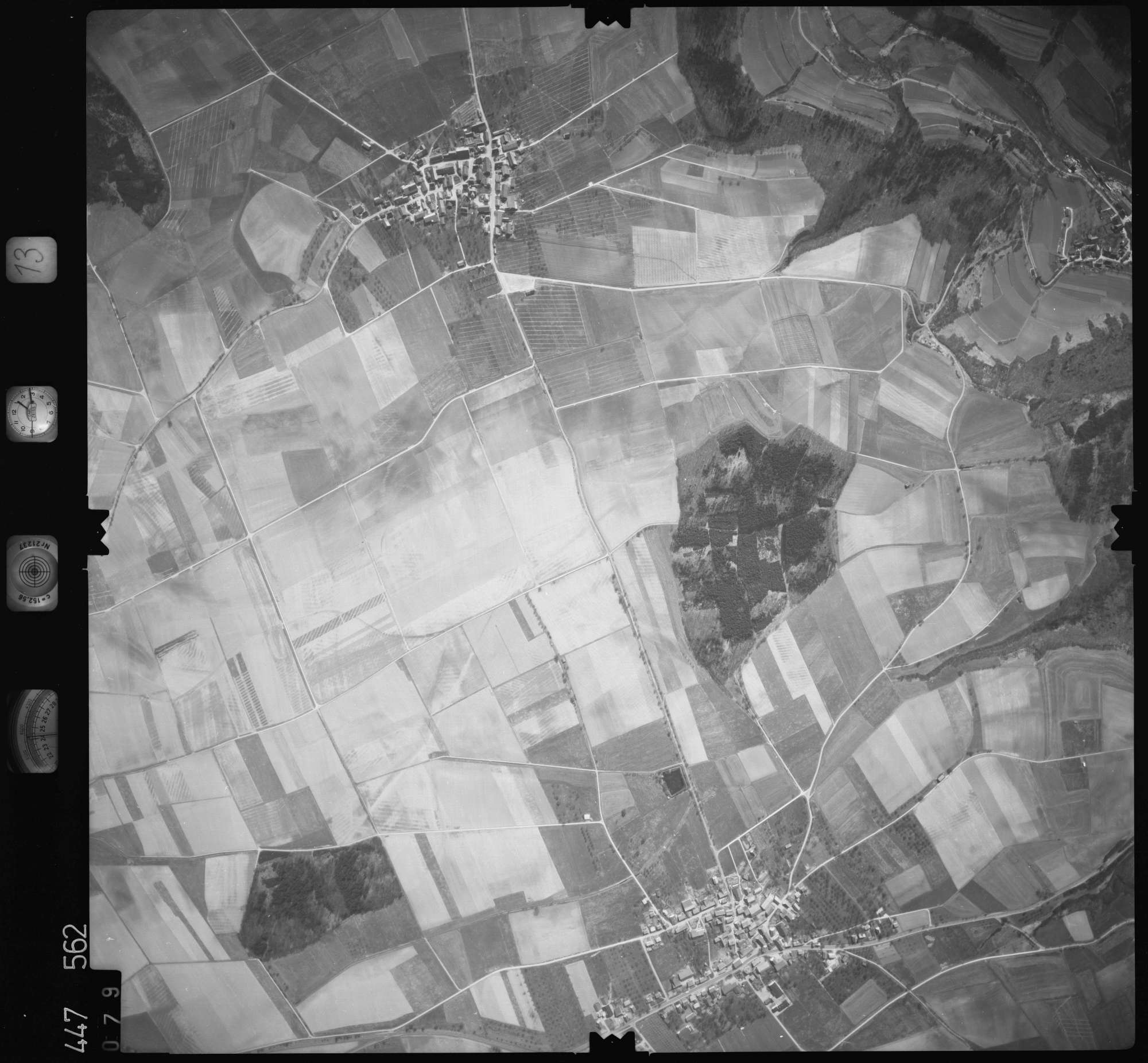 Luftbild: Film 13 Bildnr. 79, Bild 1