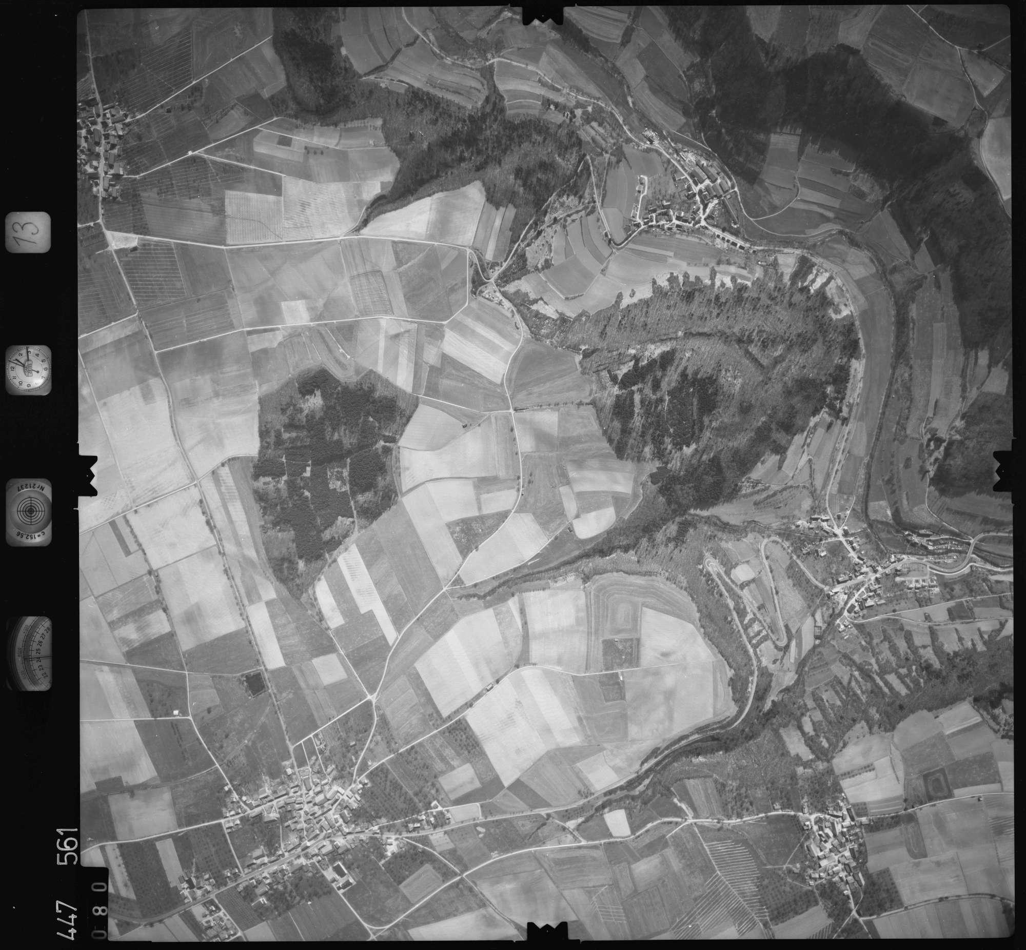 Luftbild: Film 13 Bildnr. 80, Bild 1
