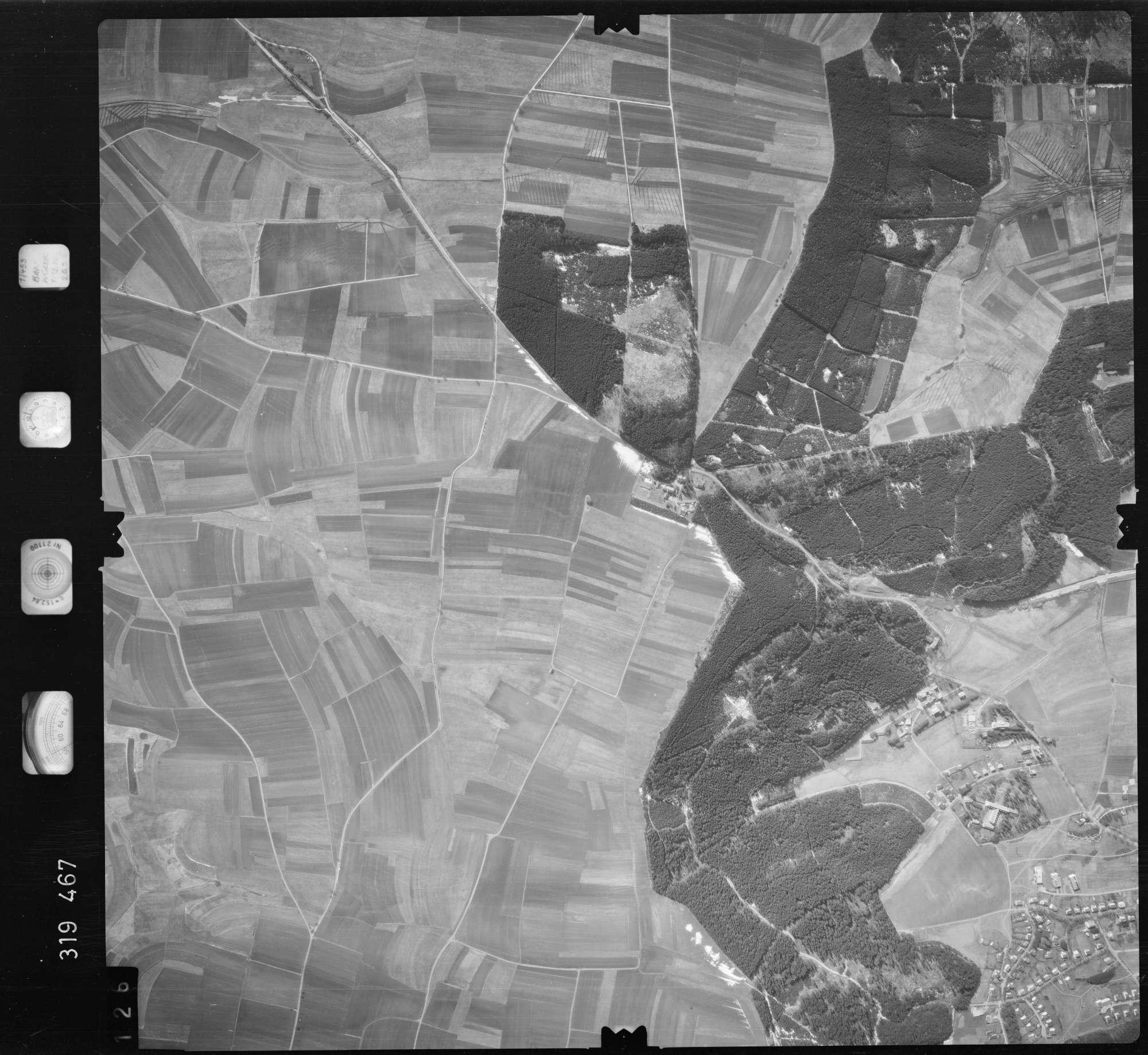 Luftbild: Film 57 Bildnr. 126, Bild 1