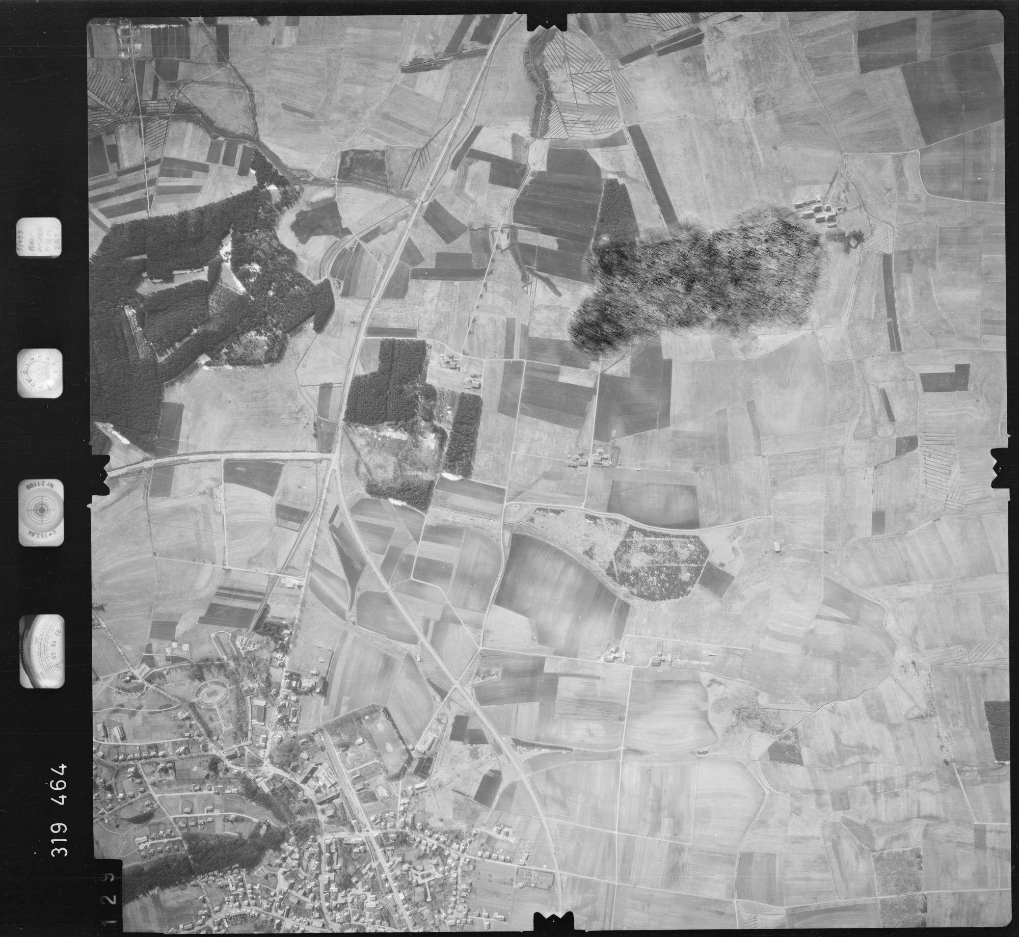 Luftbild: Film 57 Bildnr. 129, Bild 1