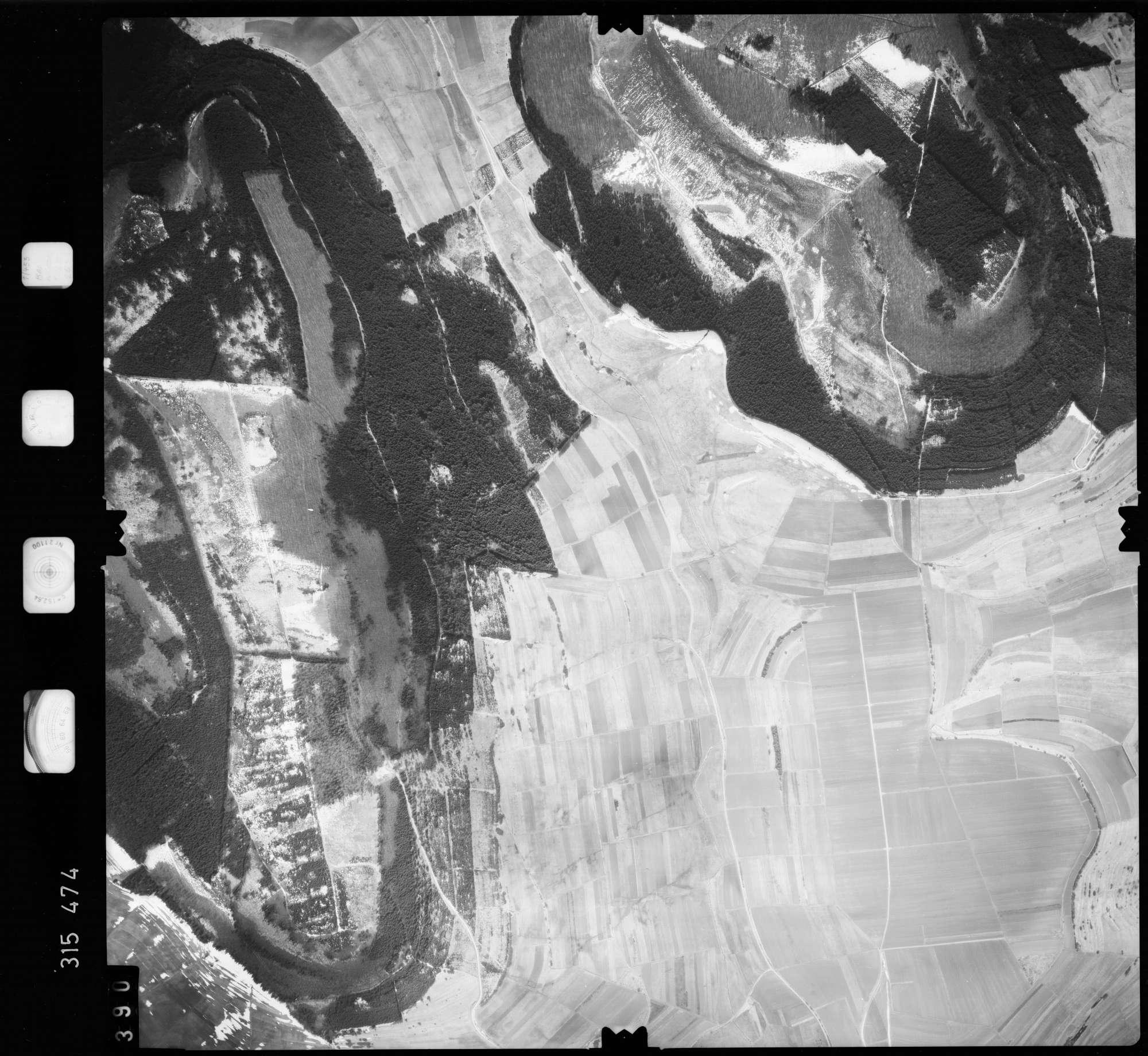 Luftbild: Film 58 Bildnr. 390, Bild 1