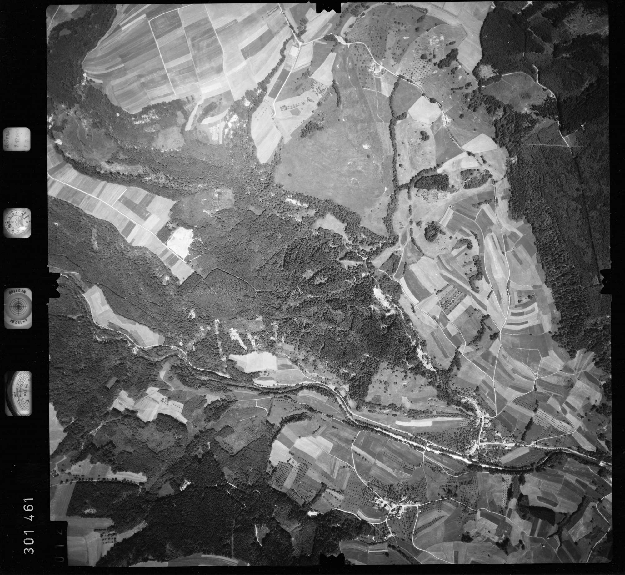 Luftbild: Film 55 Bildnr. 12, Bild 1