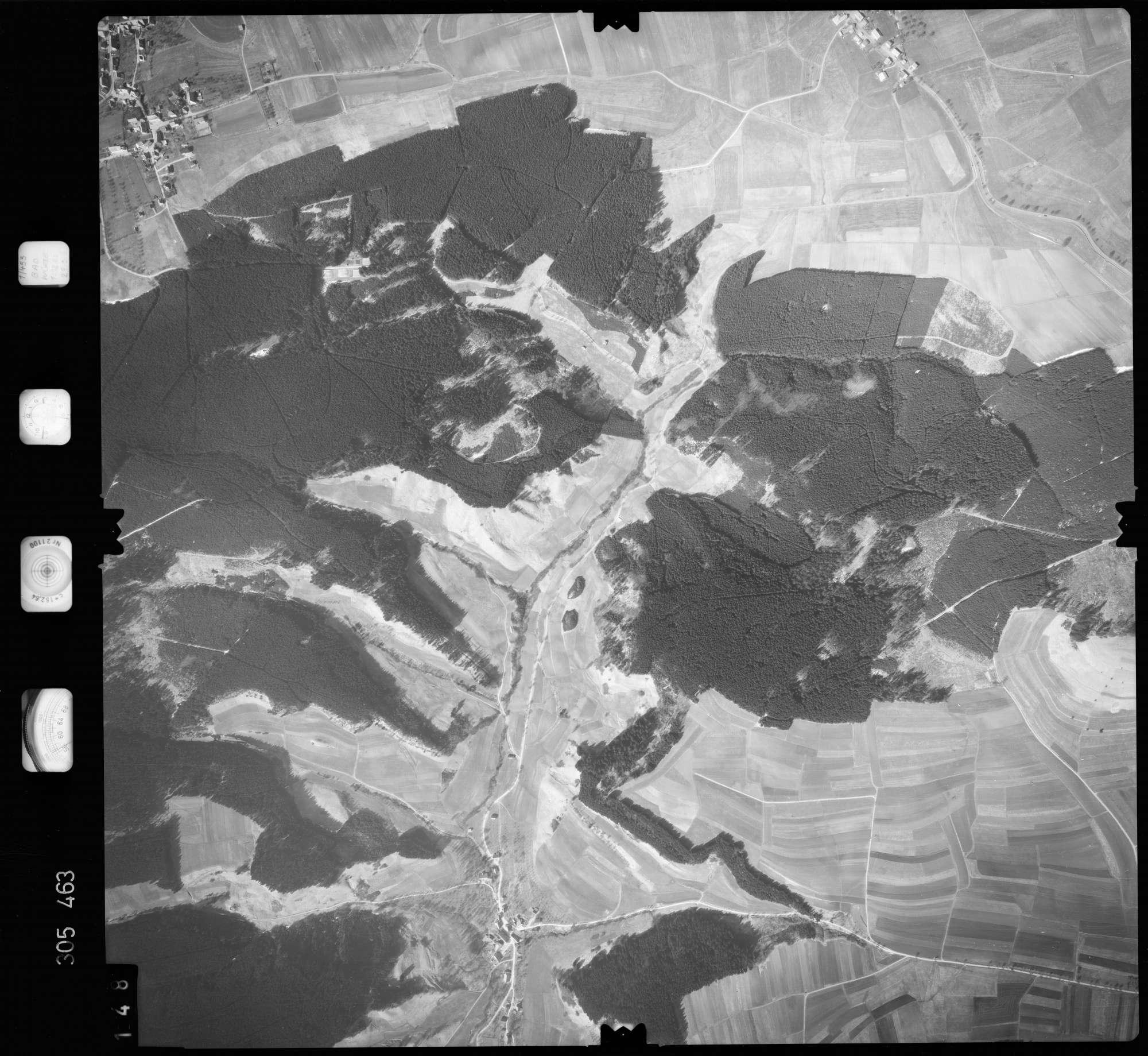 Luftbild: Film 61 Bildnr. 148, Bild 1