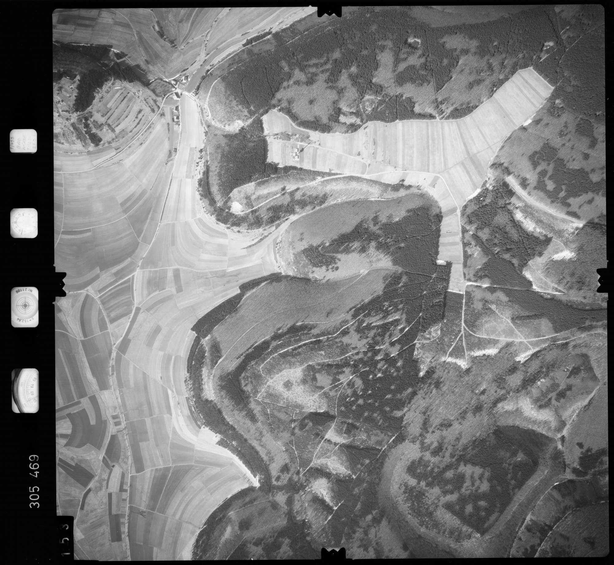 Luftbild: Film 61 Bildnr. 153, Bild 1