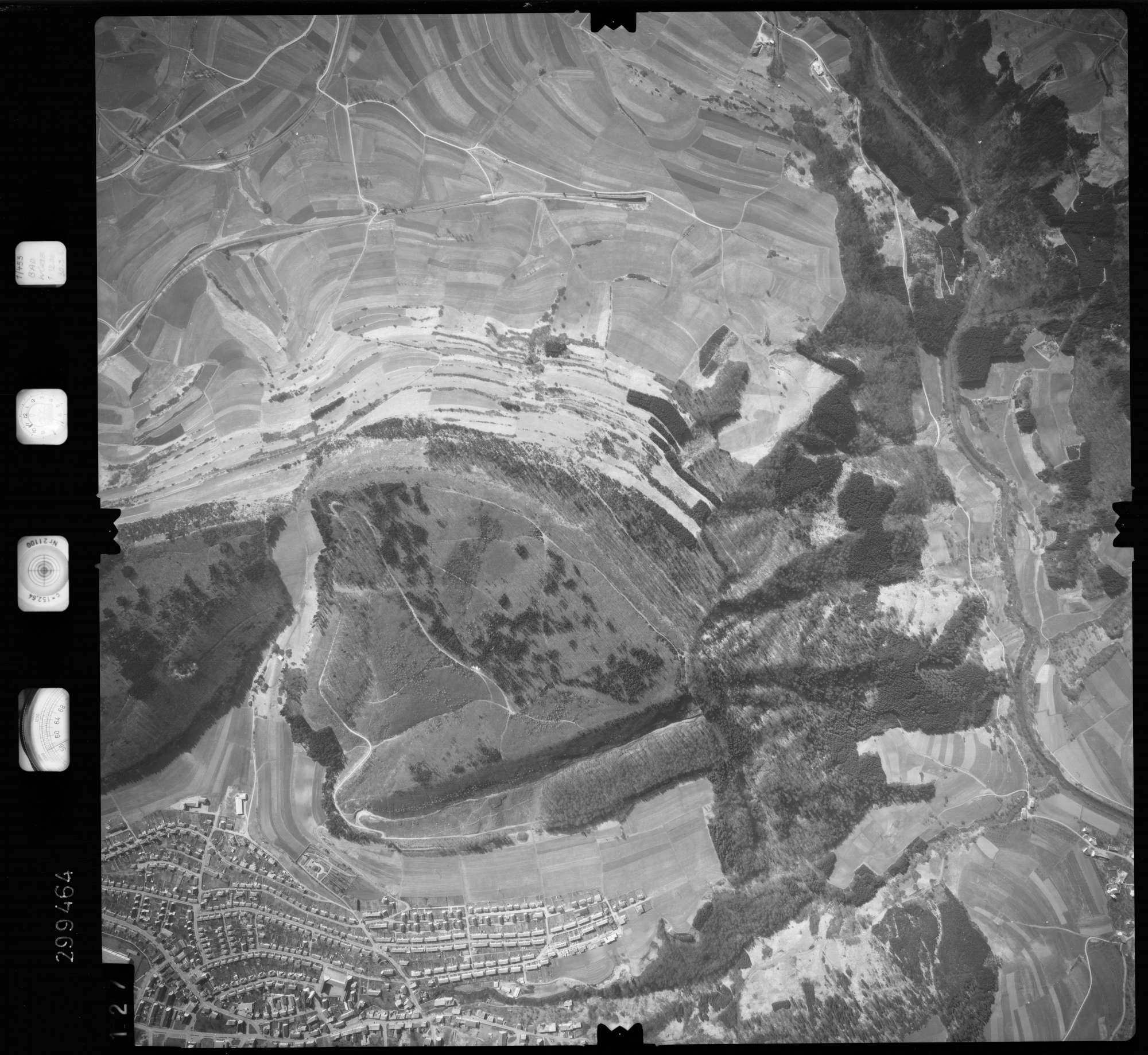Luftbild: Film 66 Bildnr. 127, Bild 1