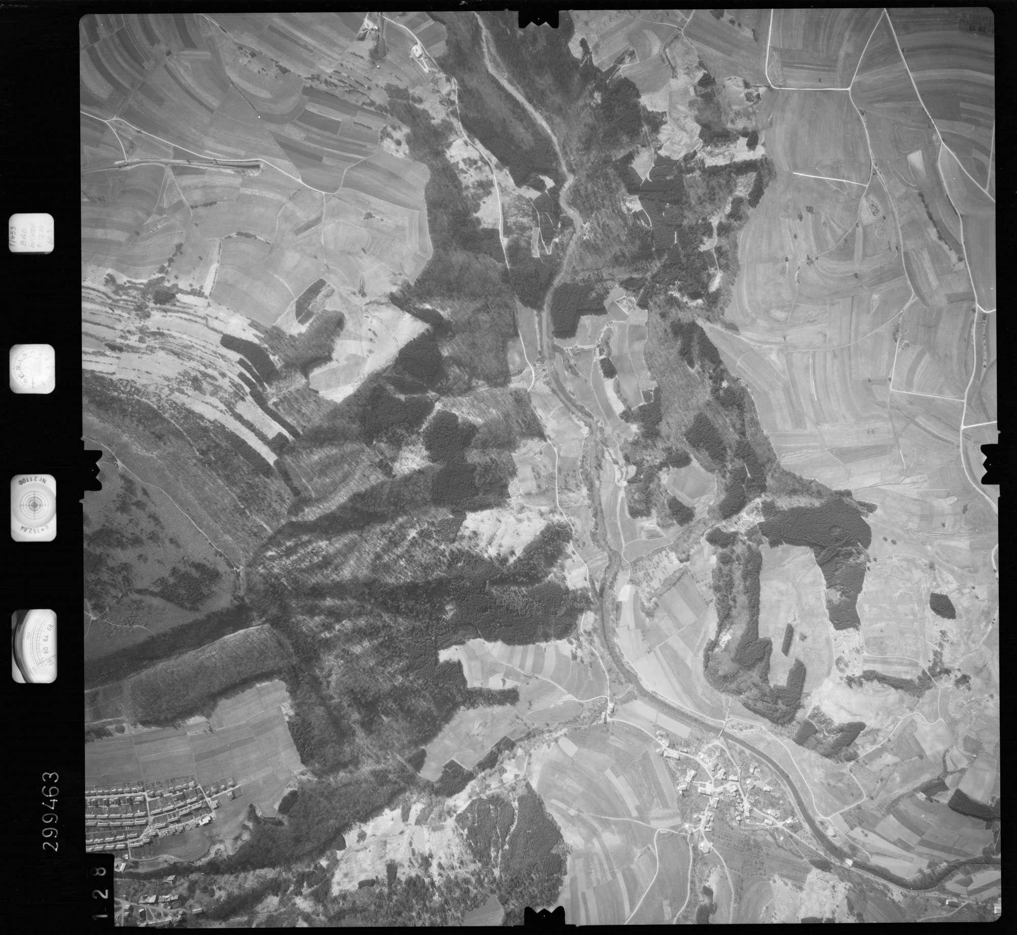 Luftbild: Film 66 Bildnr. 128, Bild 1