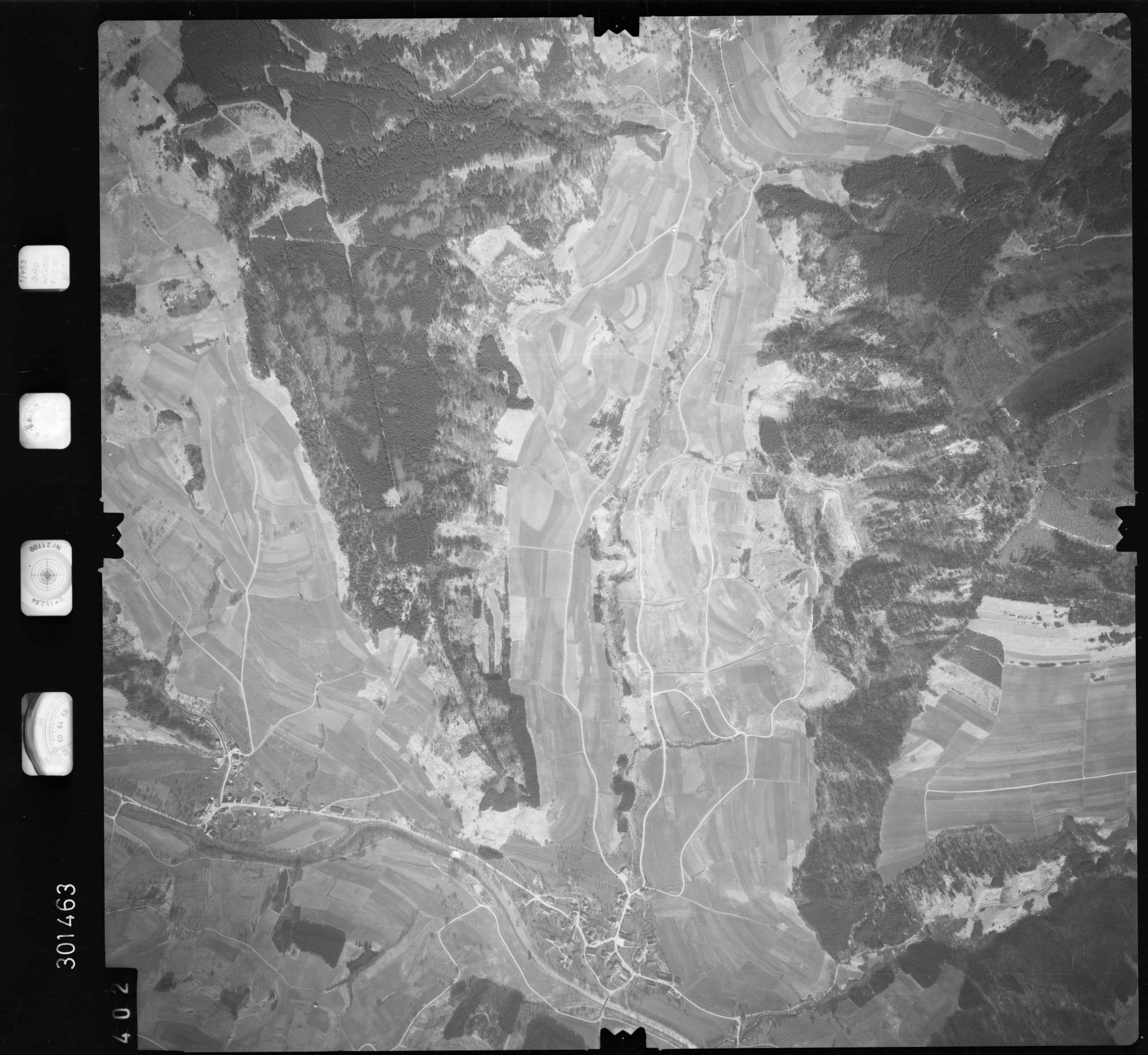 Luftbild: Film 69 Bildnr. 402, Bild 1