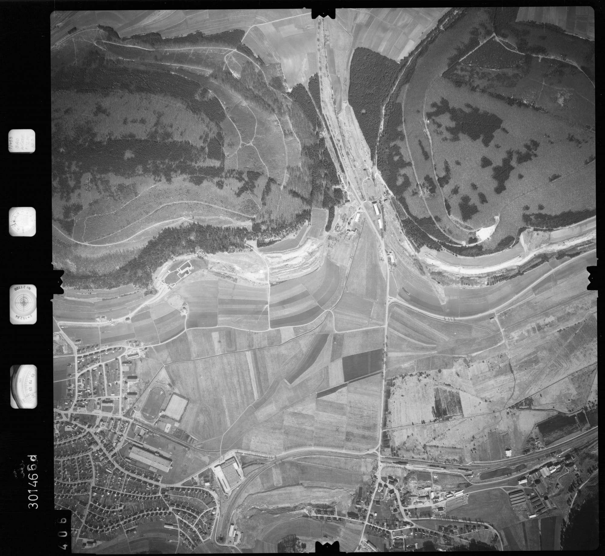 Luftbild: Film 69 Bildnr. 406, Bild 1