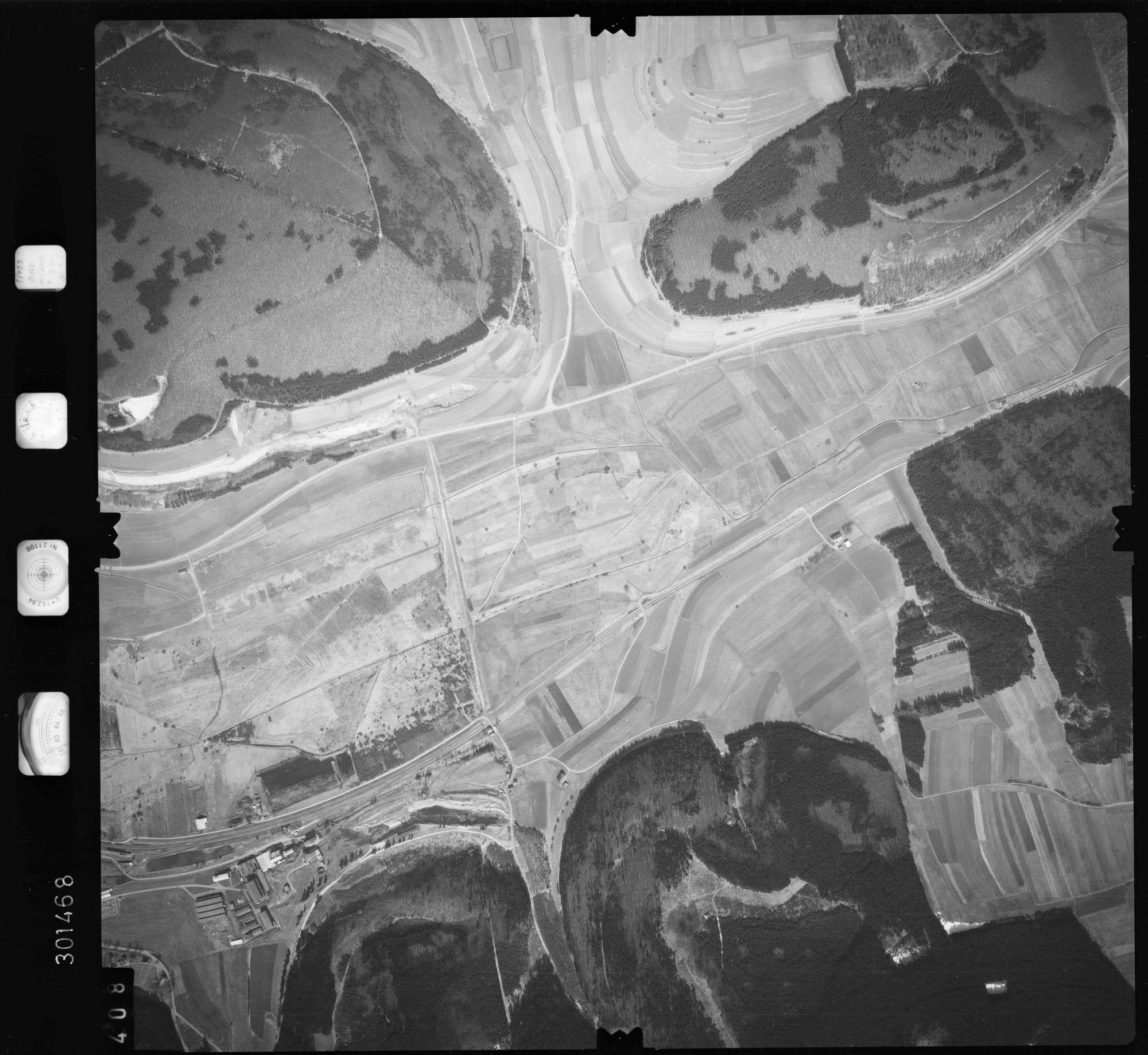 Luftbild: Film 69 Bildnr. 408, Bild 1