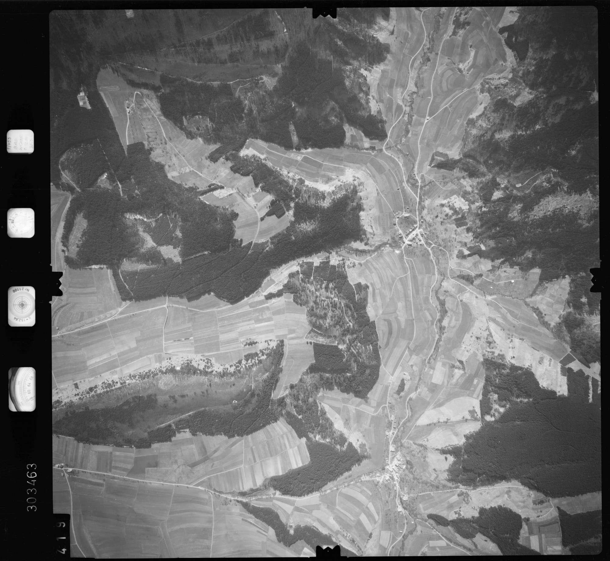 Luftbild: Film 69 Bildnr. 419, Bild 1