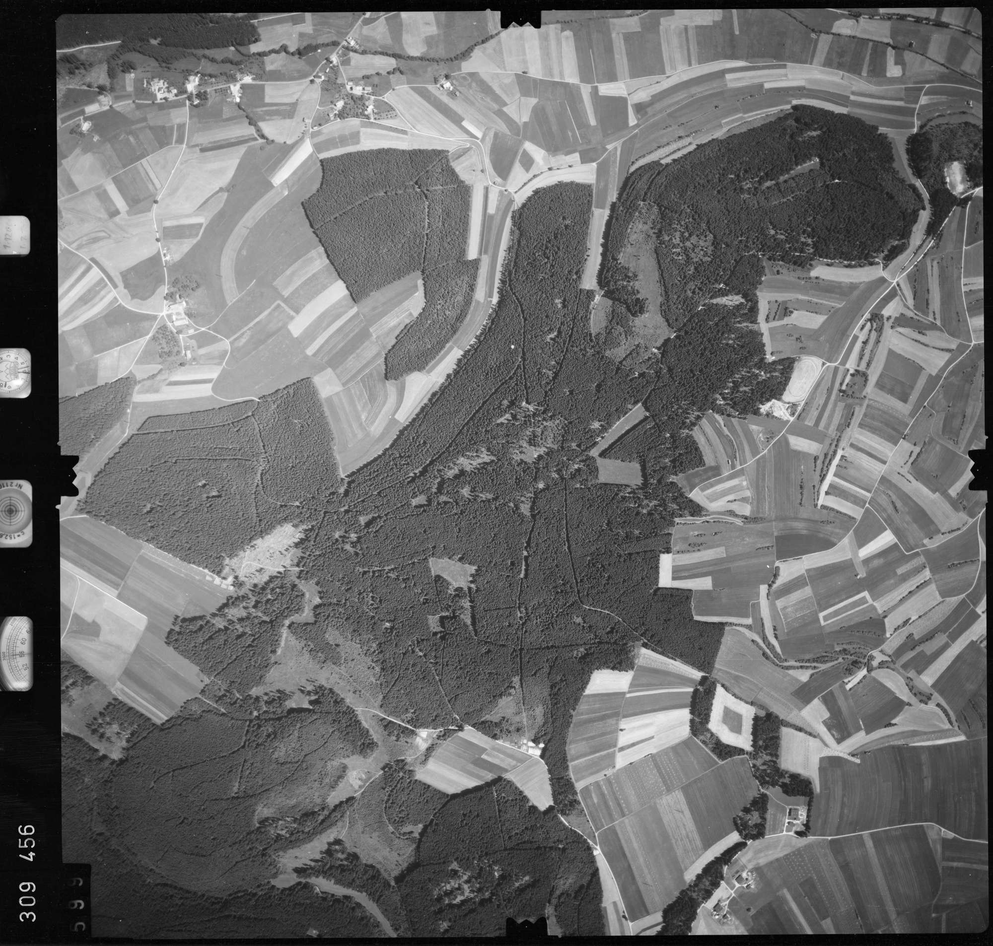 Luftbild: Film 56 Bildnr. 599, Bild 1