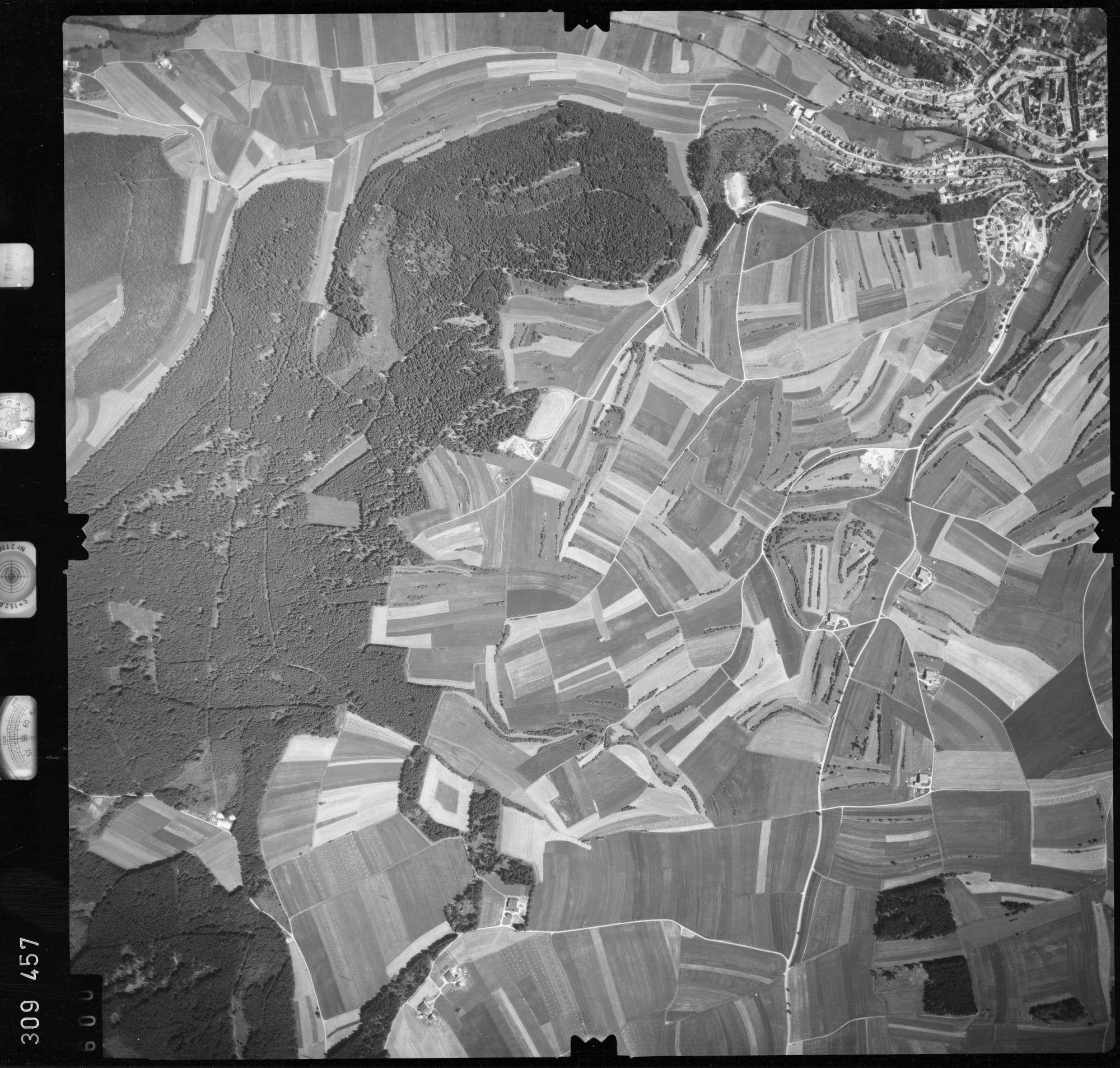Luftbild: Film 56 Bildnr. 600, Bild 1
