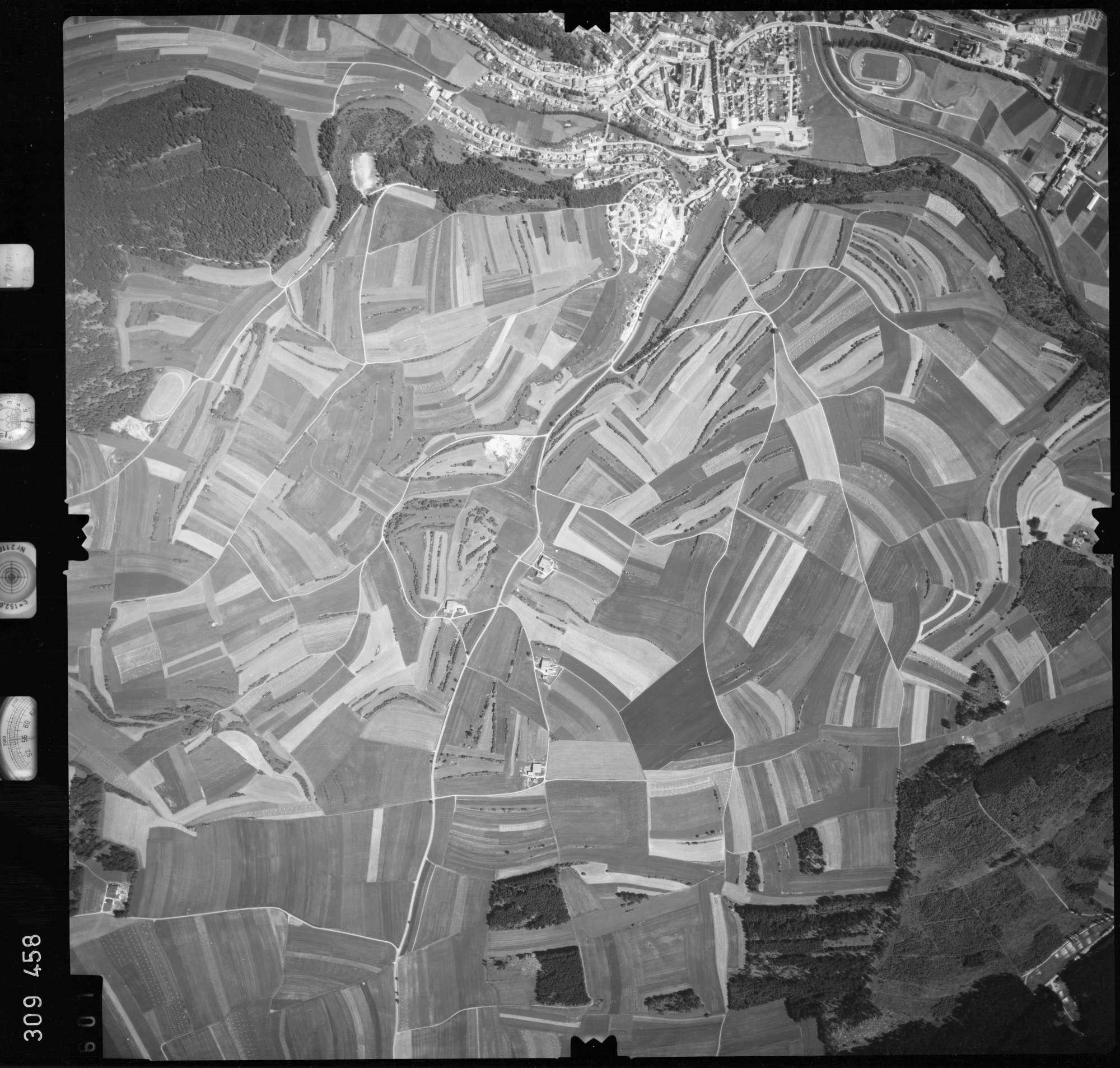 Luftbild: Film 56 Bildnr. 601, Bild 1