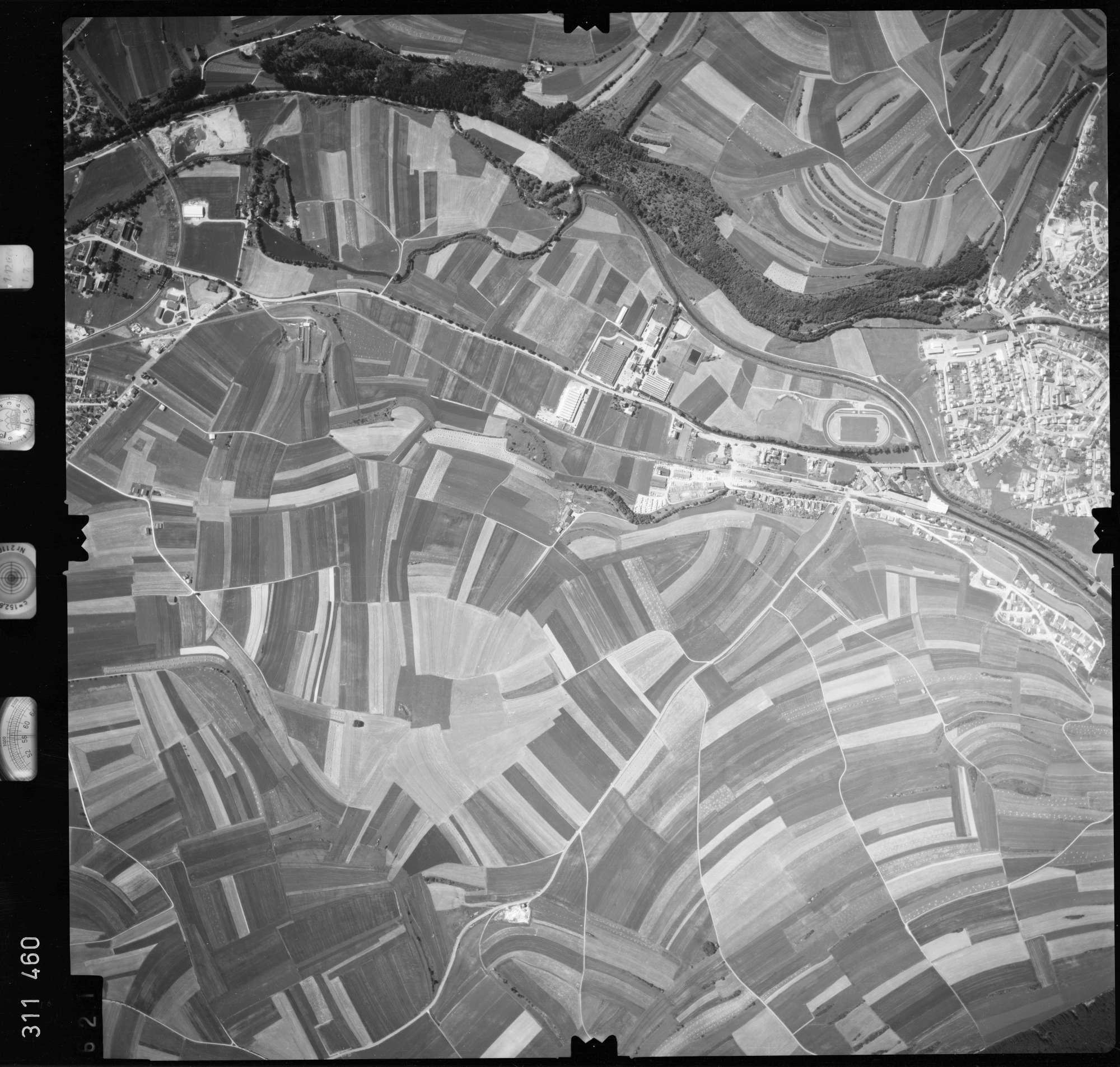 Luftbild: Film 56 Bildnr. 621, Bild 1
