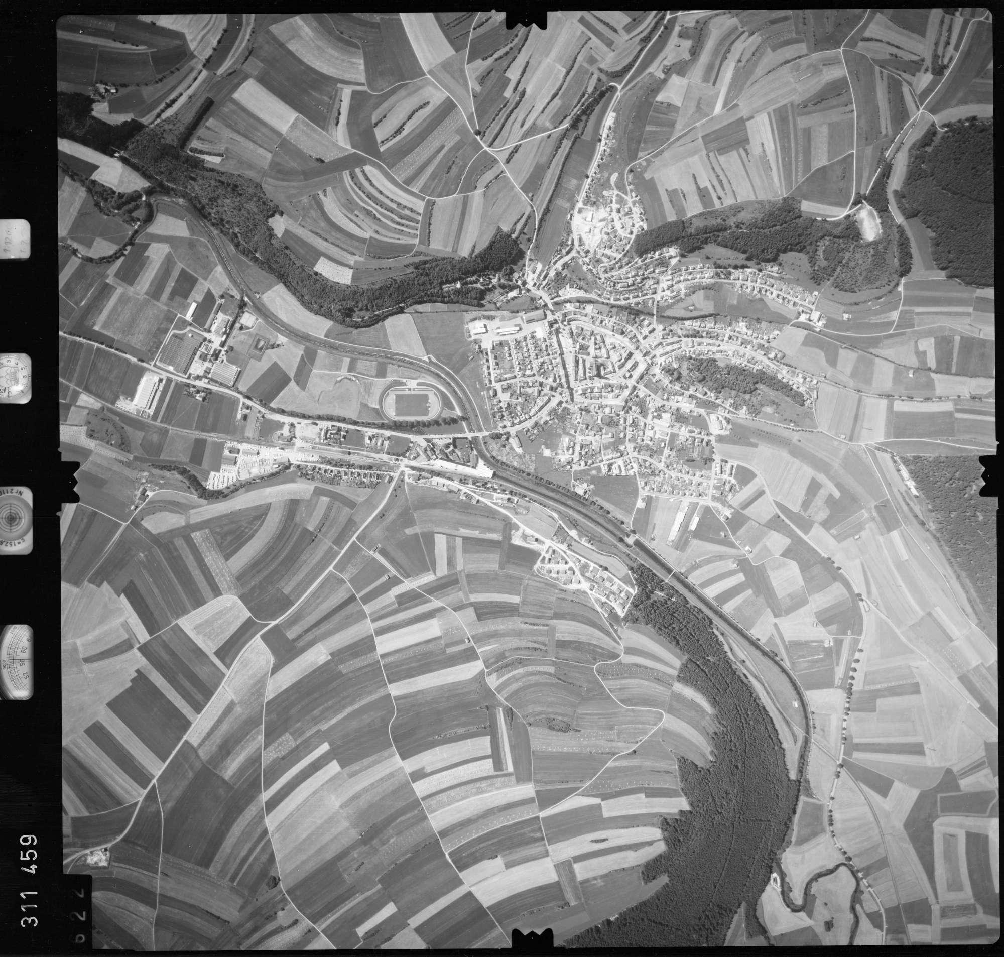Luftbild: Film 56 Bildnr. 622, Bild 1
