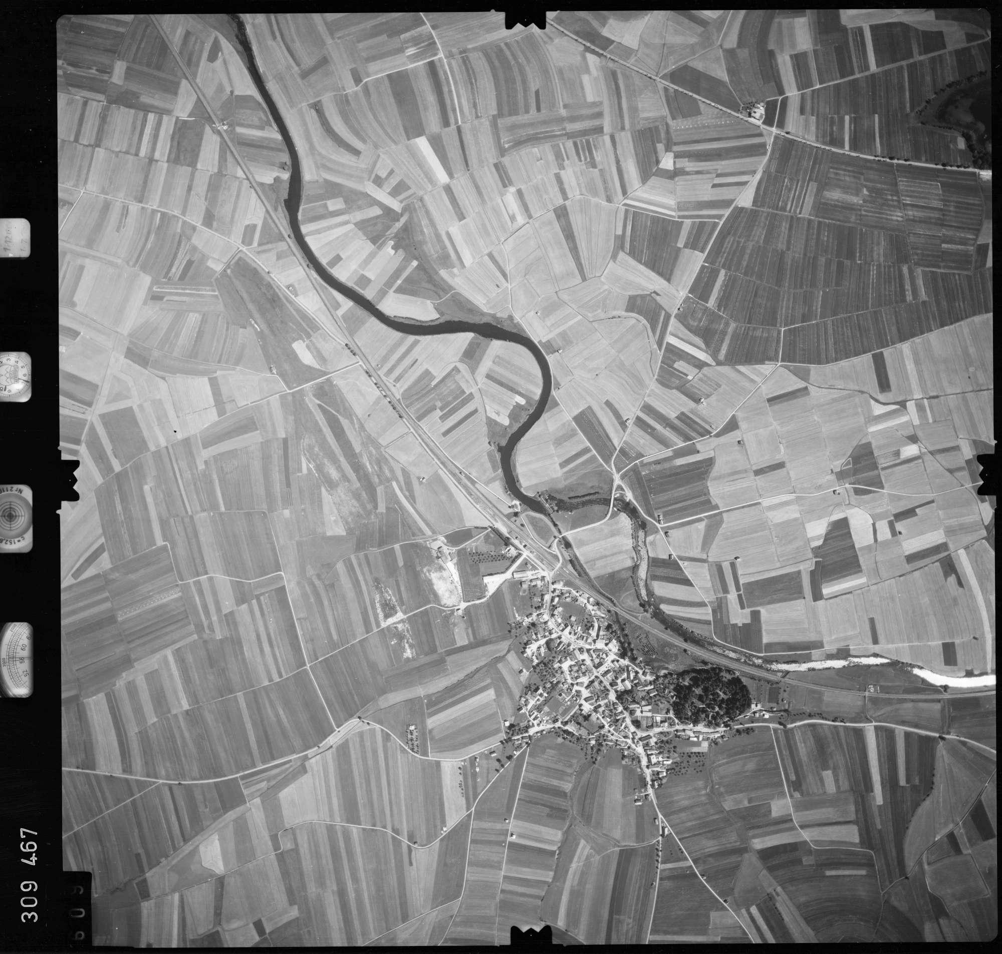 Luftbild: Film 56 Bildnr. 609, Bild 1