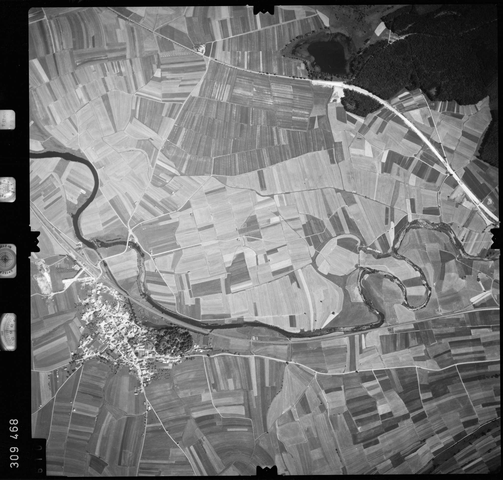 Luftbild: Film 56 Bildnr. 610, Bild 1