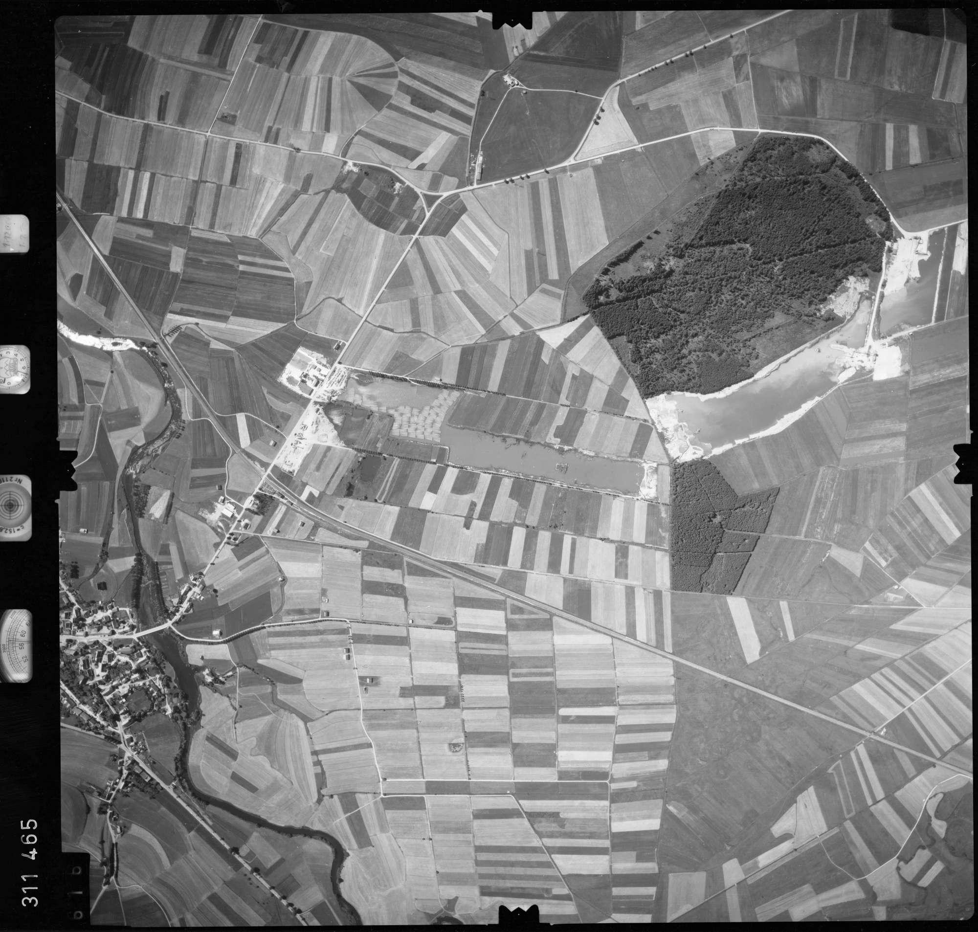 Luftbild: Film 56 Bildnr. 616, Bild 1