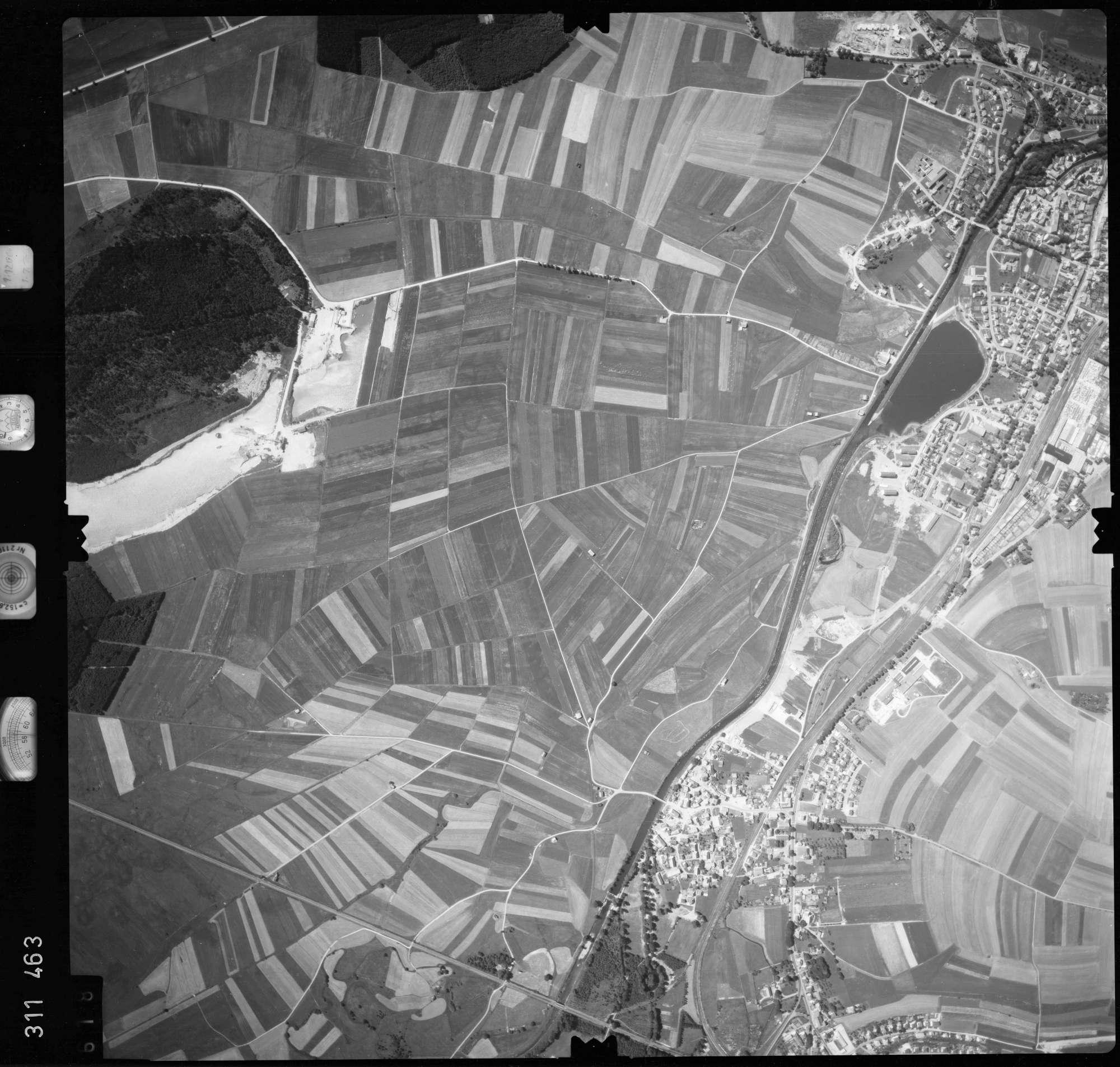 Luftbild: Film 56 Bildnr. 618, Bild 1