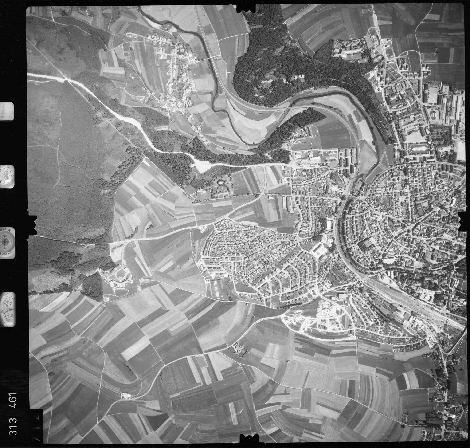 Luftbild: Film 56 Bildnr. 712, Bild 1
