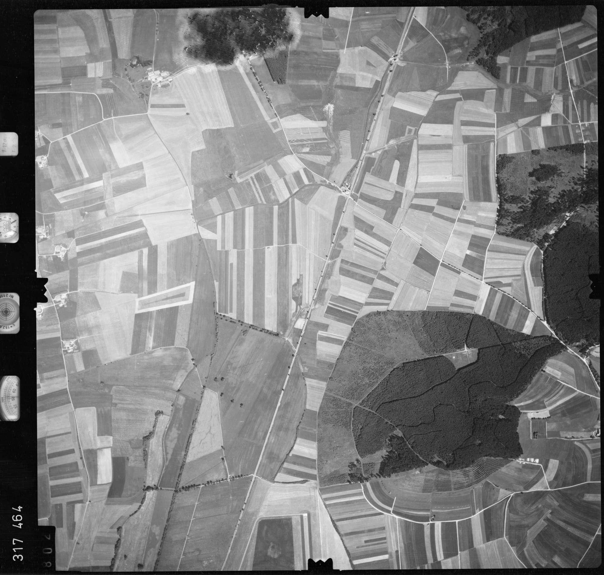 Luftbild: Film 56 Bildnr. 802, Bild 1