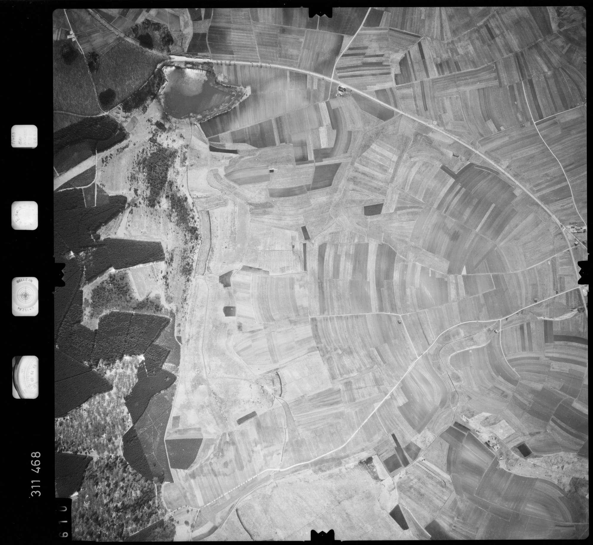 Luftbild: Film 58 Bildnr. 610, Bild 1