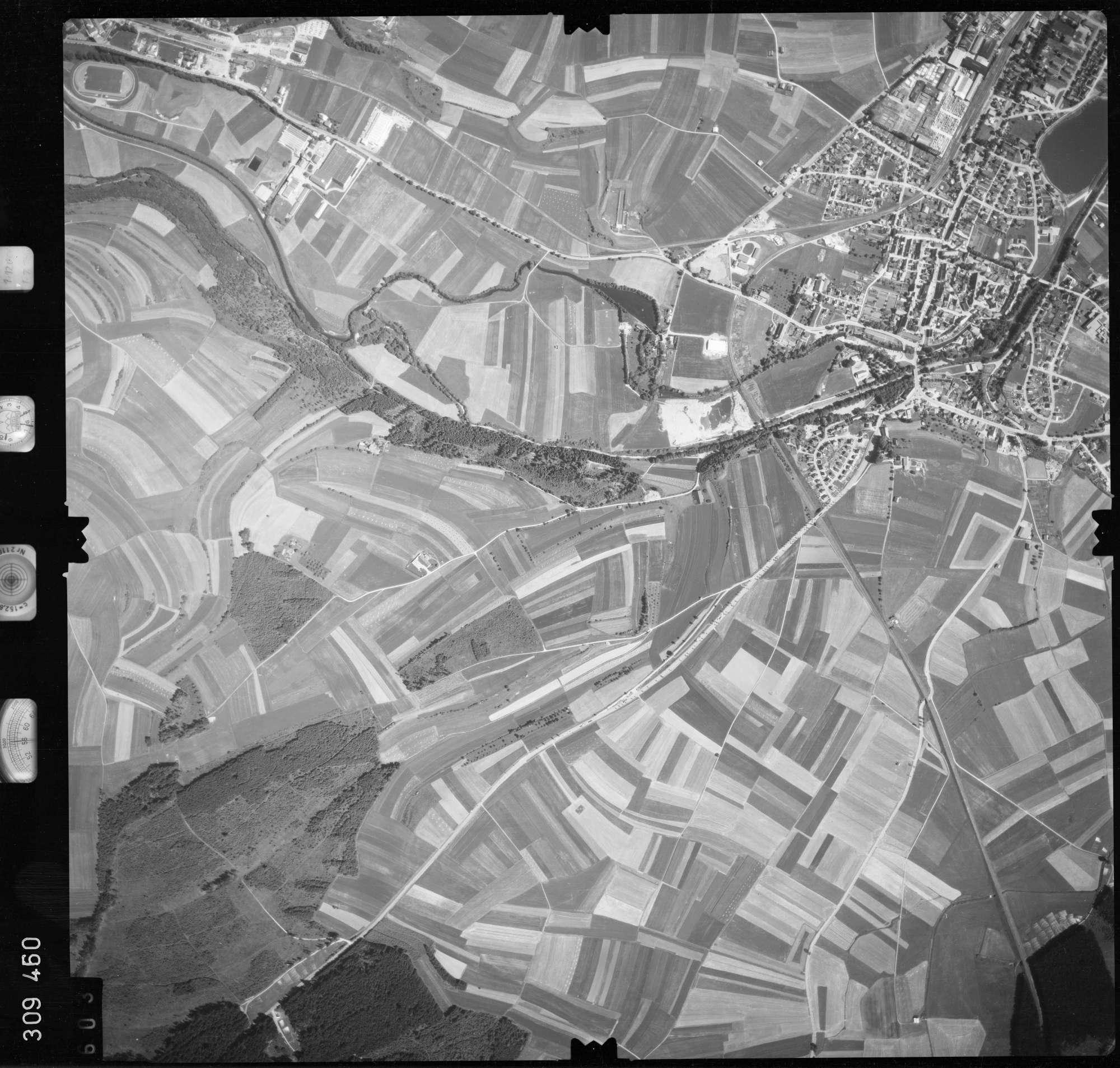 Luftbild: Film 56 Bildnr. 603, Bild 1