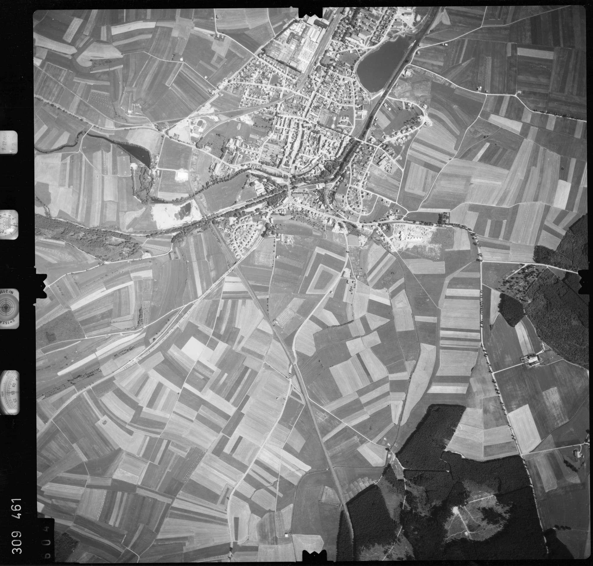 Luftbild: Film 56 Bildnr. 604, Bild 1