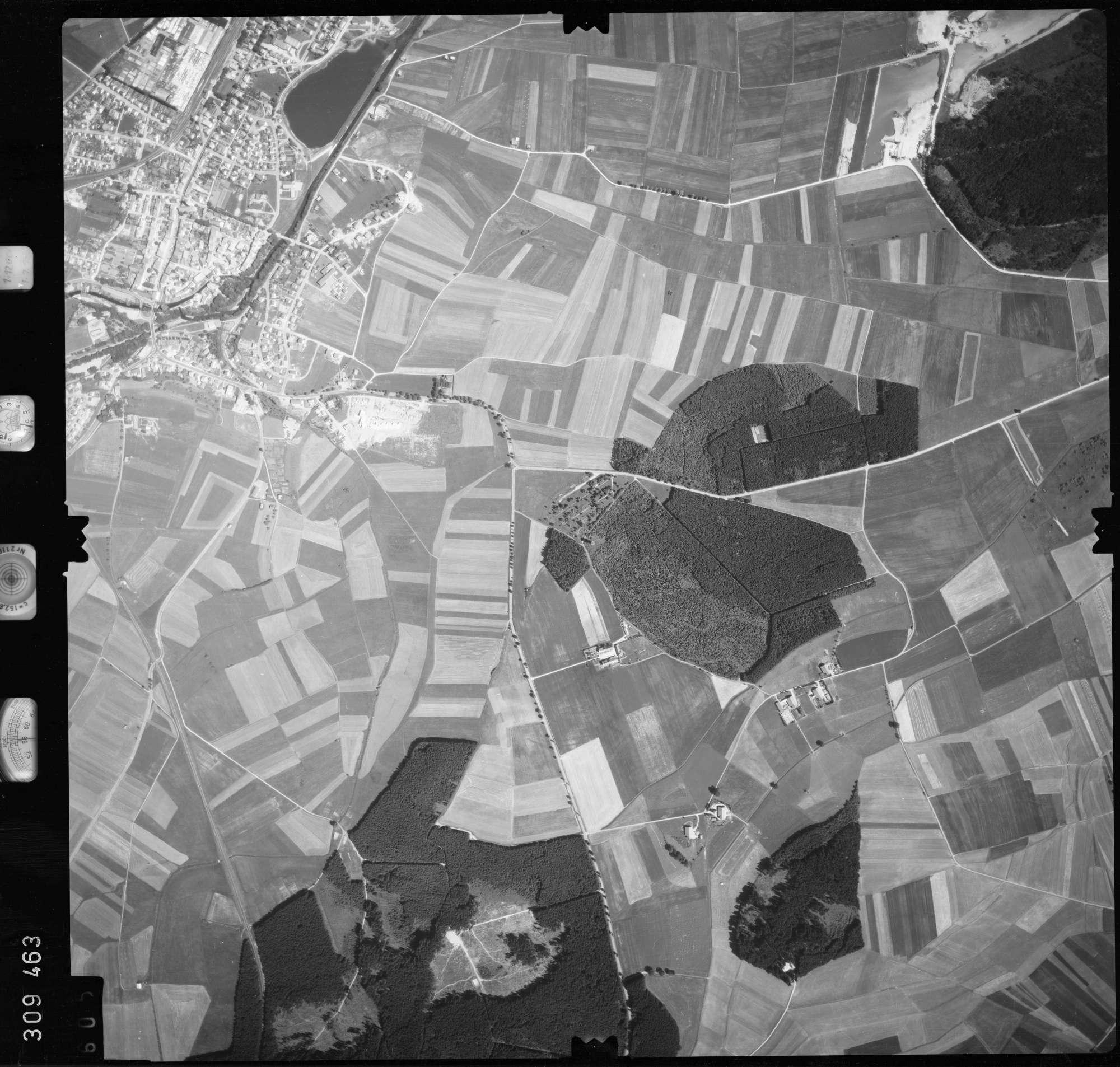Luftbild: Film 56 Bildnr. 605, Bild 1