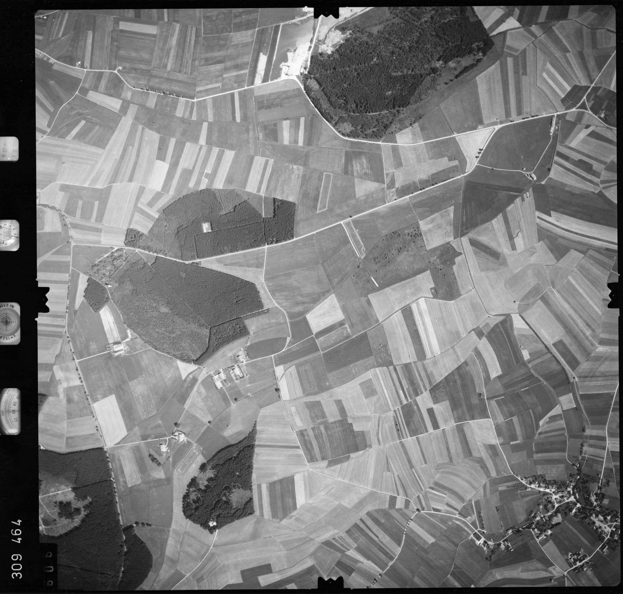 Luftbild: Film 56 Bildnr. 606, Bild 1