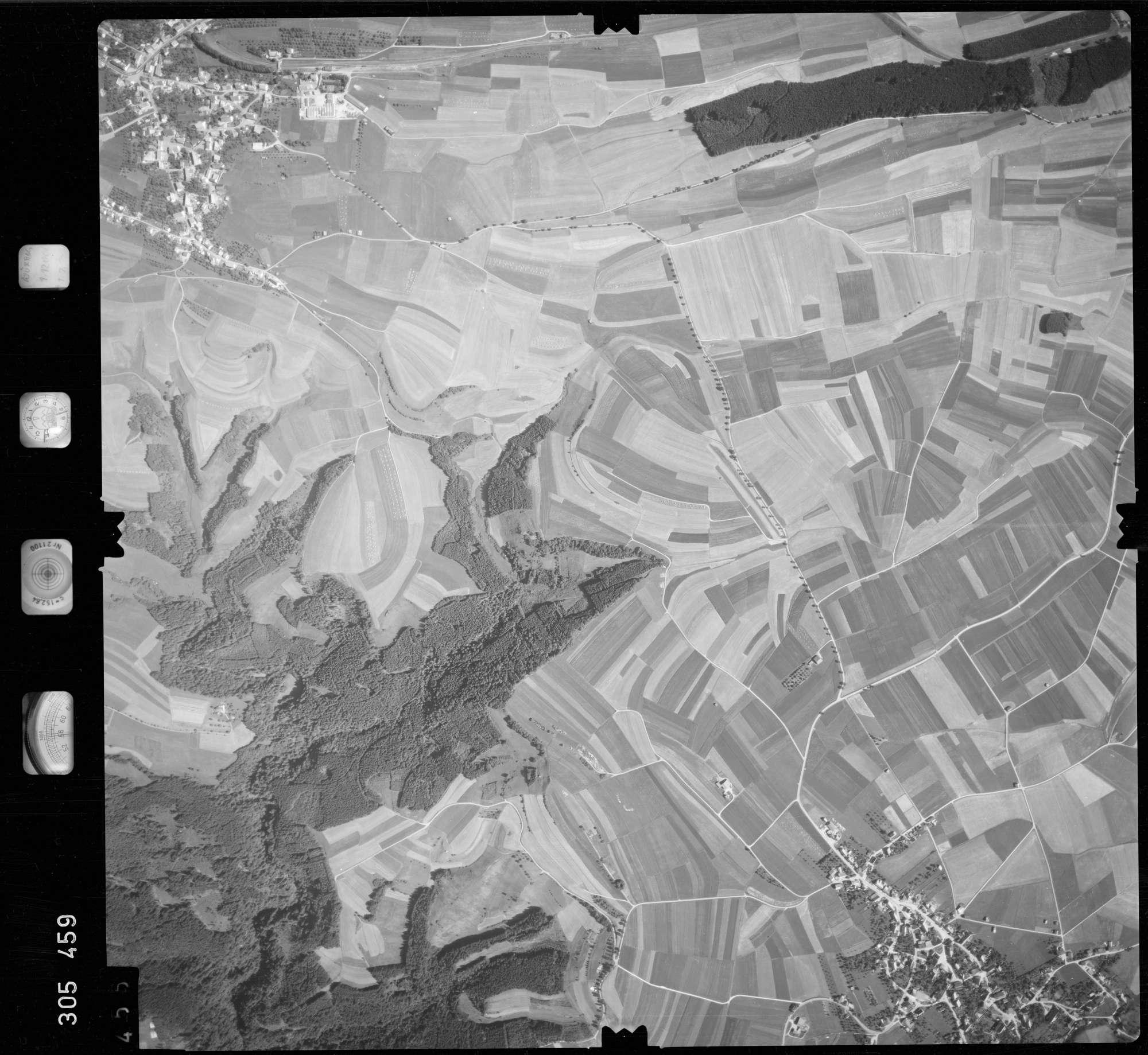 Luftbild: Film 60 Bildnr. 455, Bild 1