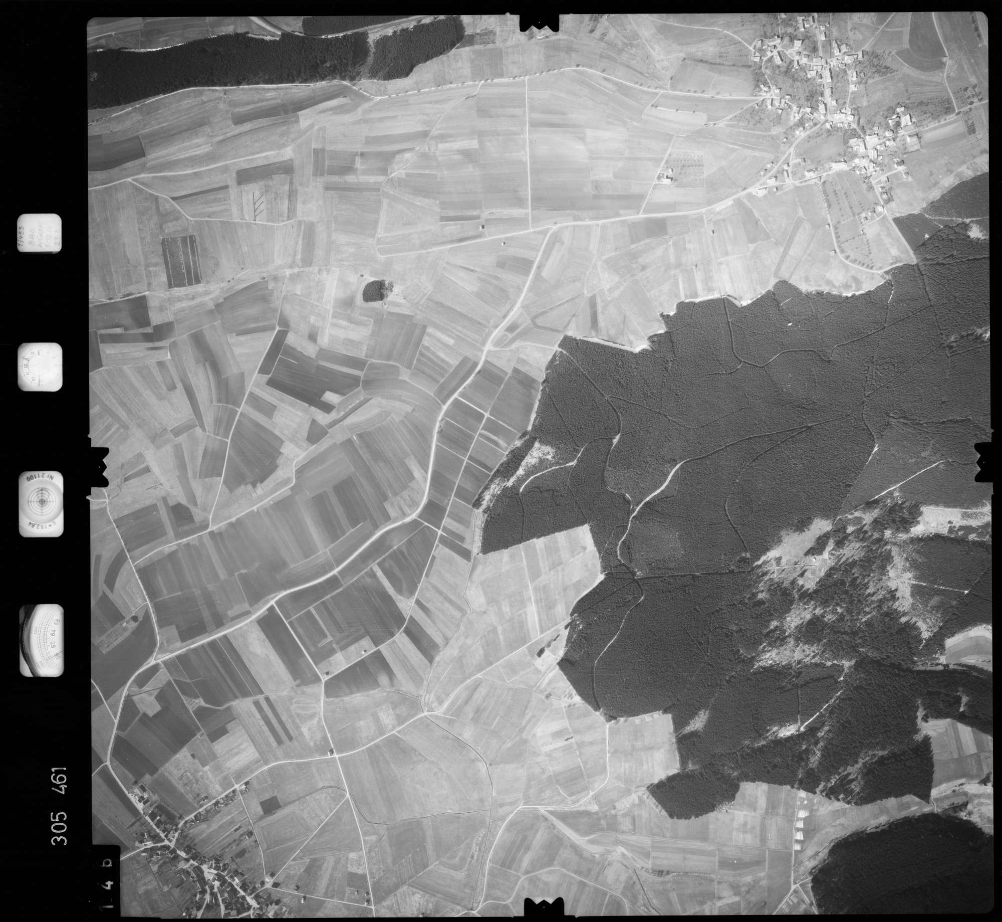 Luftbild: Film 61 Bildnr. 146, Bild 1