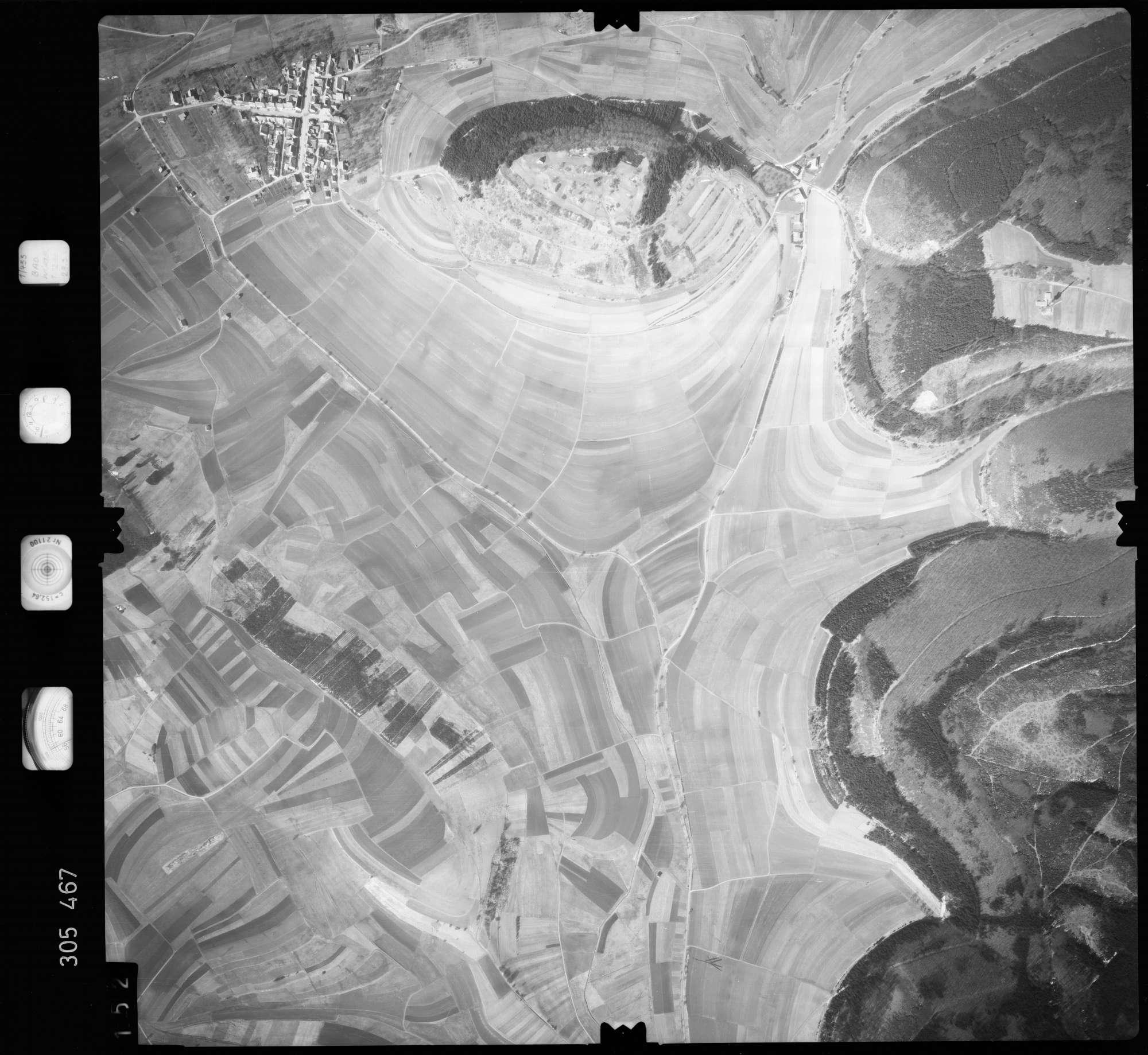 Luftbild: Film 61 Bildnr. 152, Bild 1