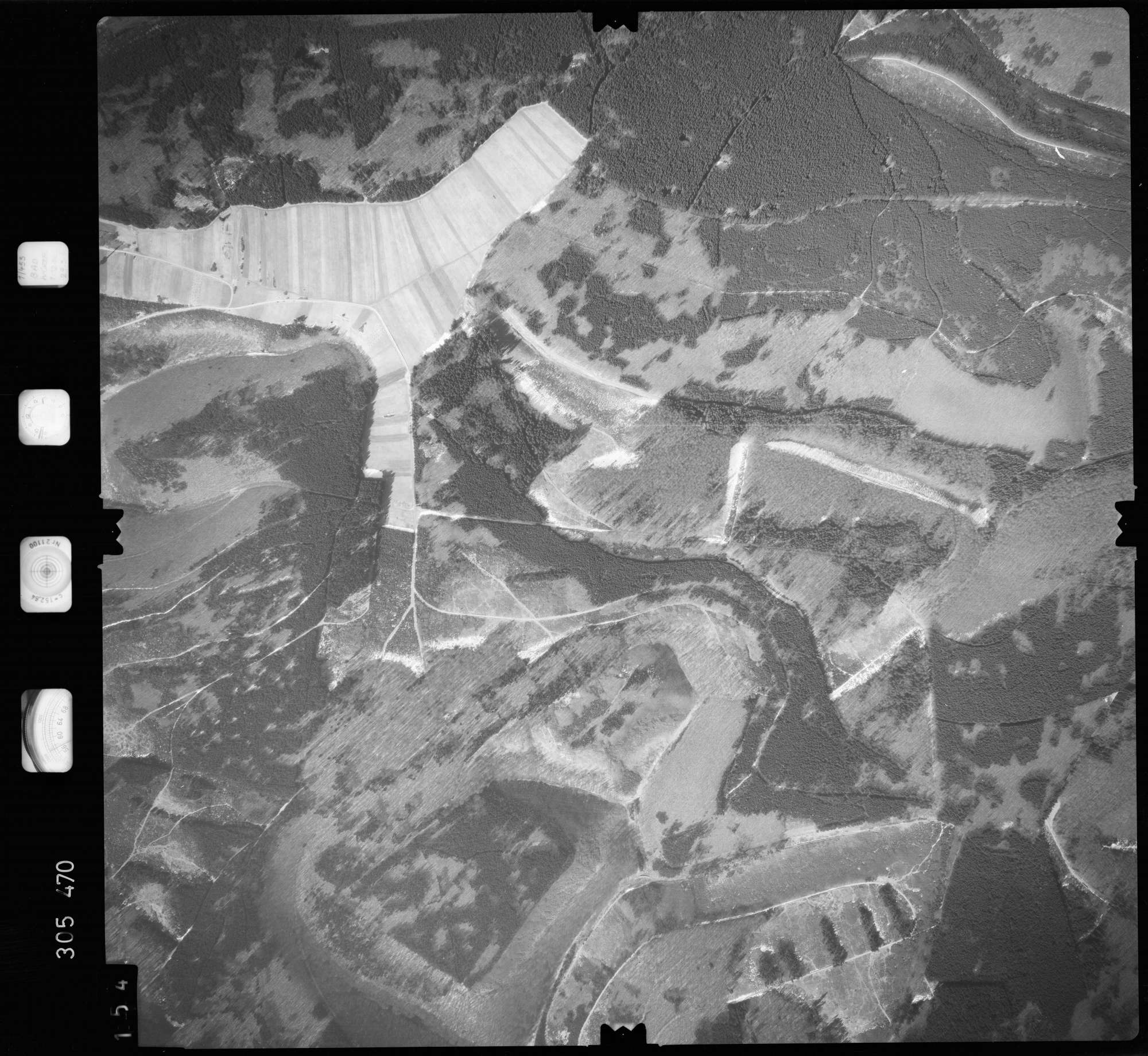 Luftbild: Film 61 Bildnr. 154, Bild 1