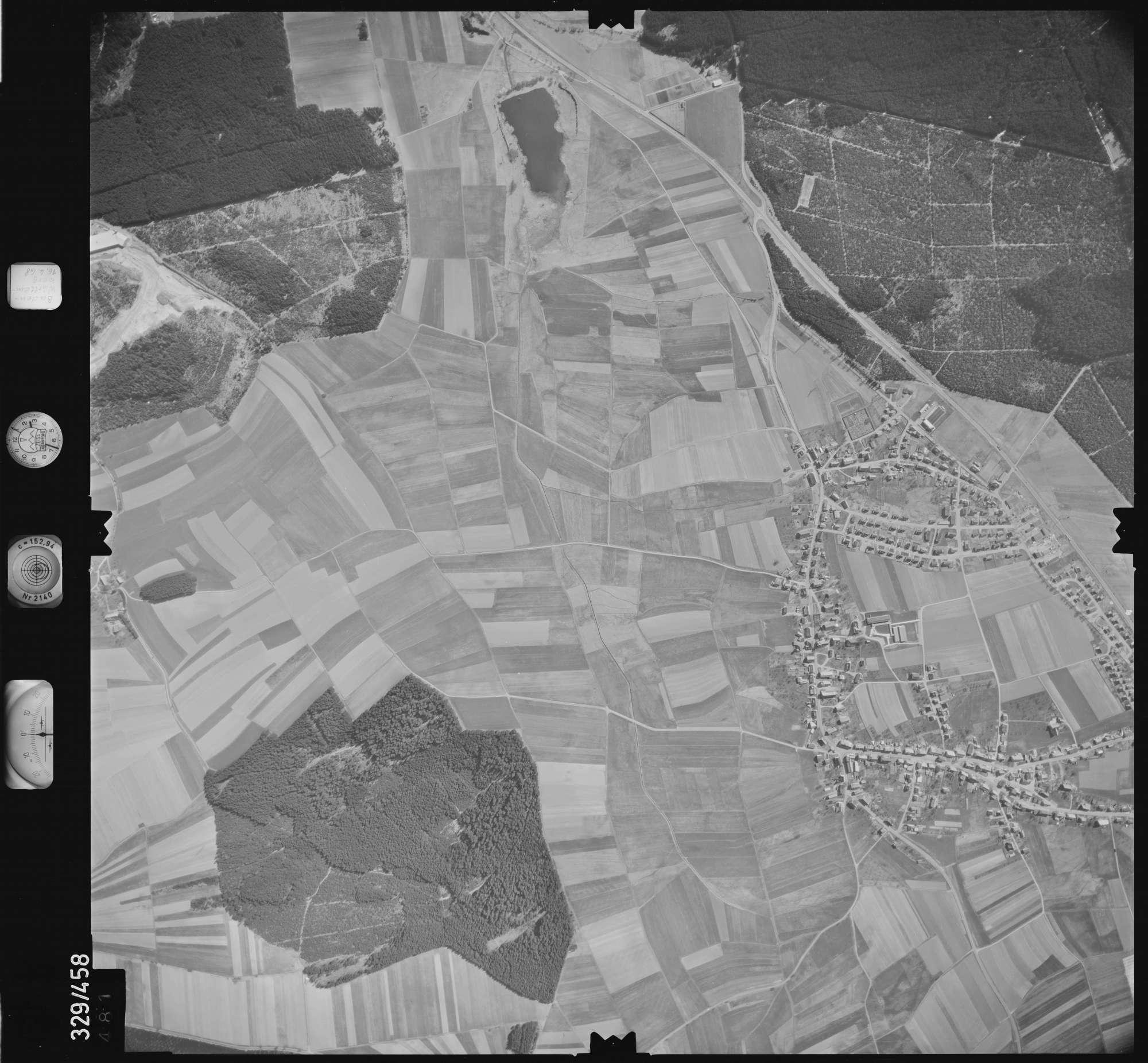 Luftbild: Film 89 Bildnr. 481, Bild 1