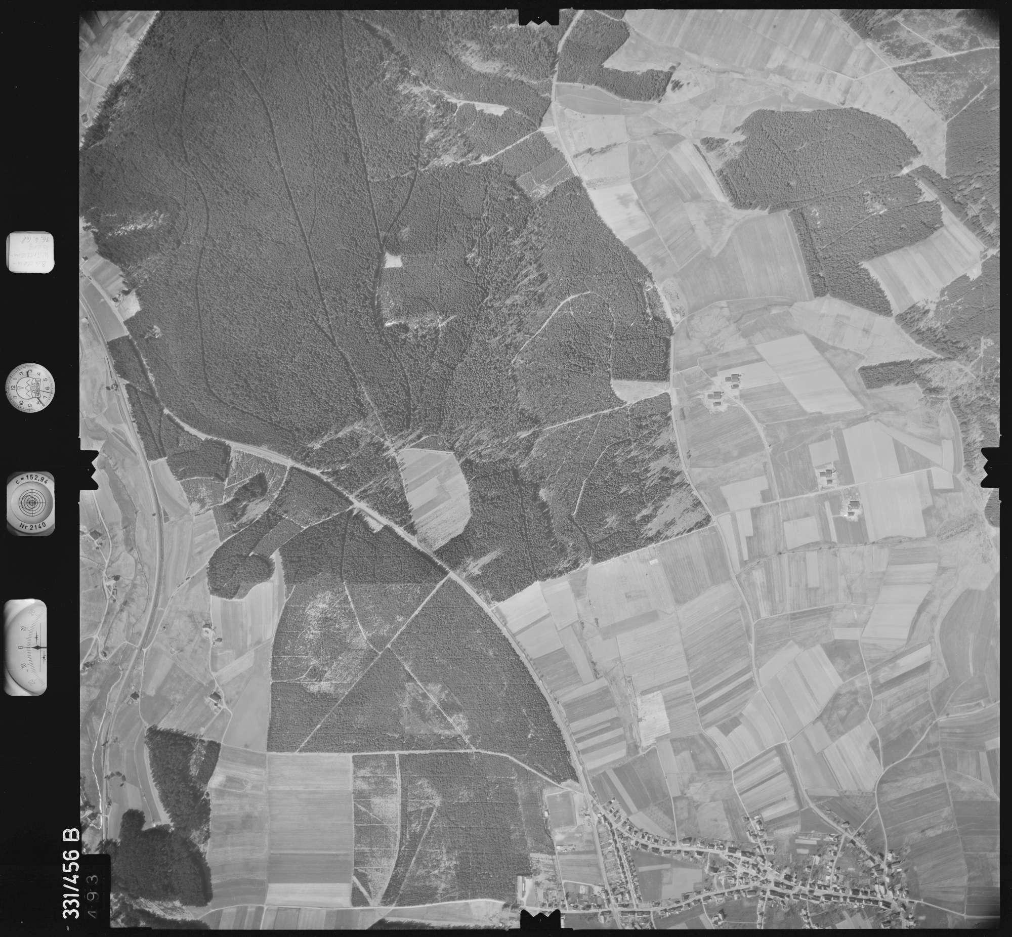 Luftbild: Film 89 Bildnr. 493, Bild 1
