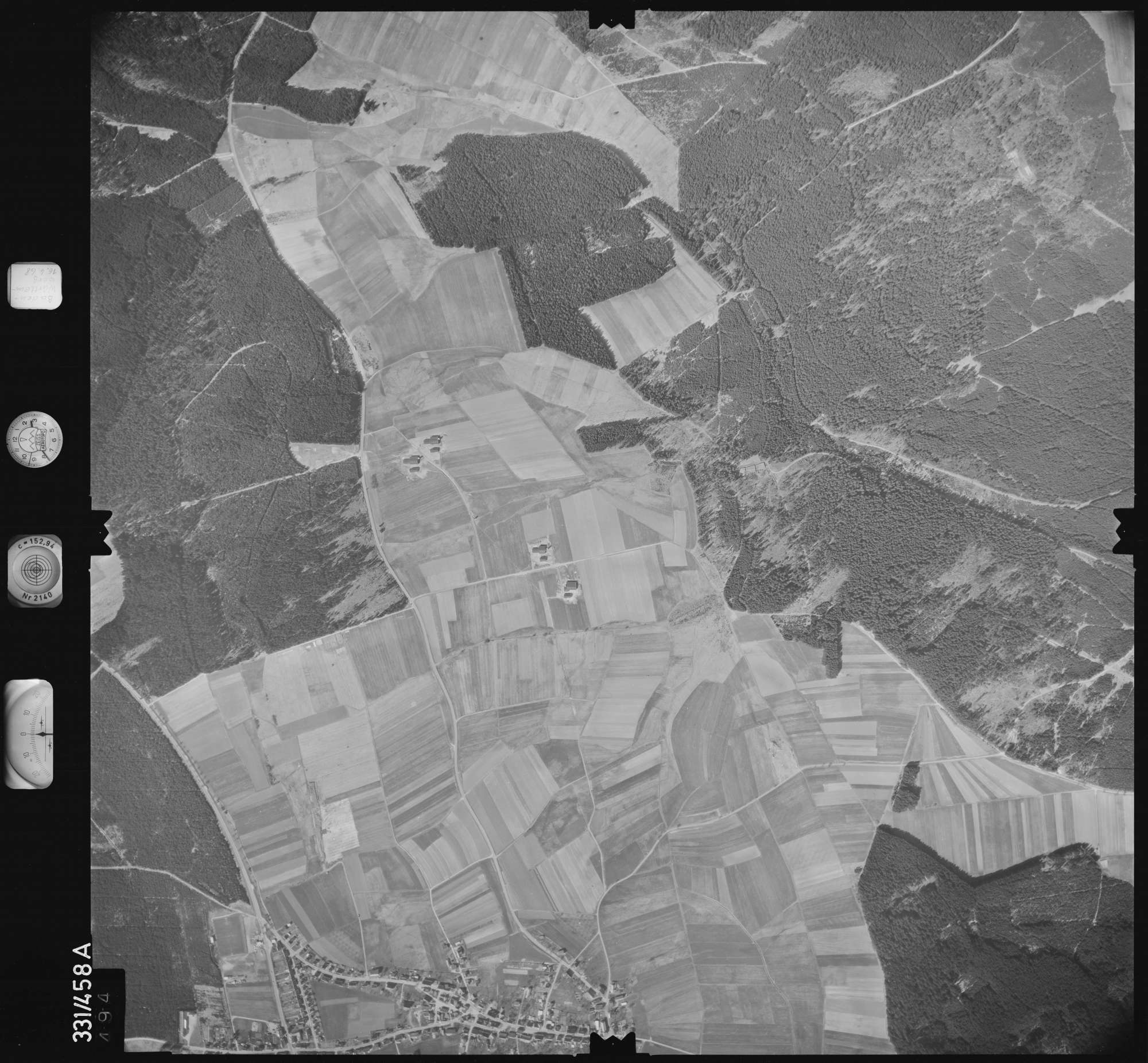 Luftbild: Film 89 Bildnr. 494, Bild 1