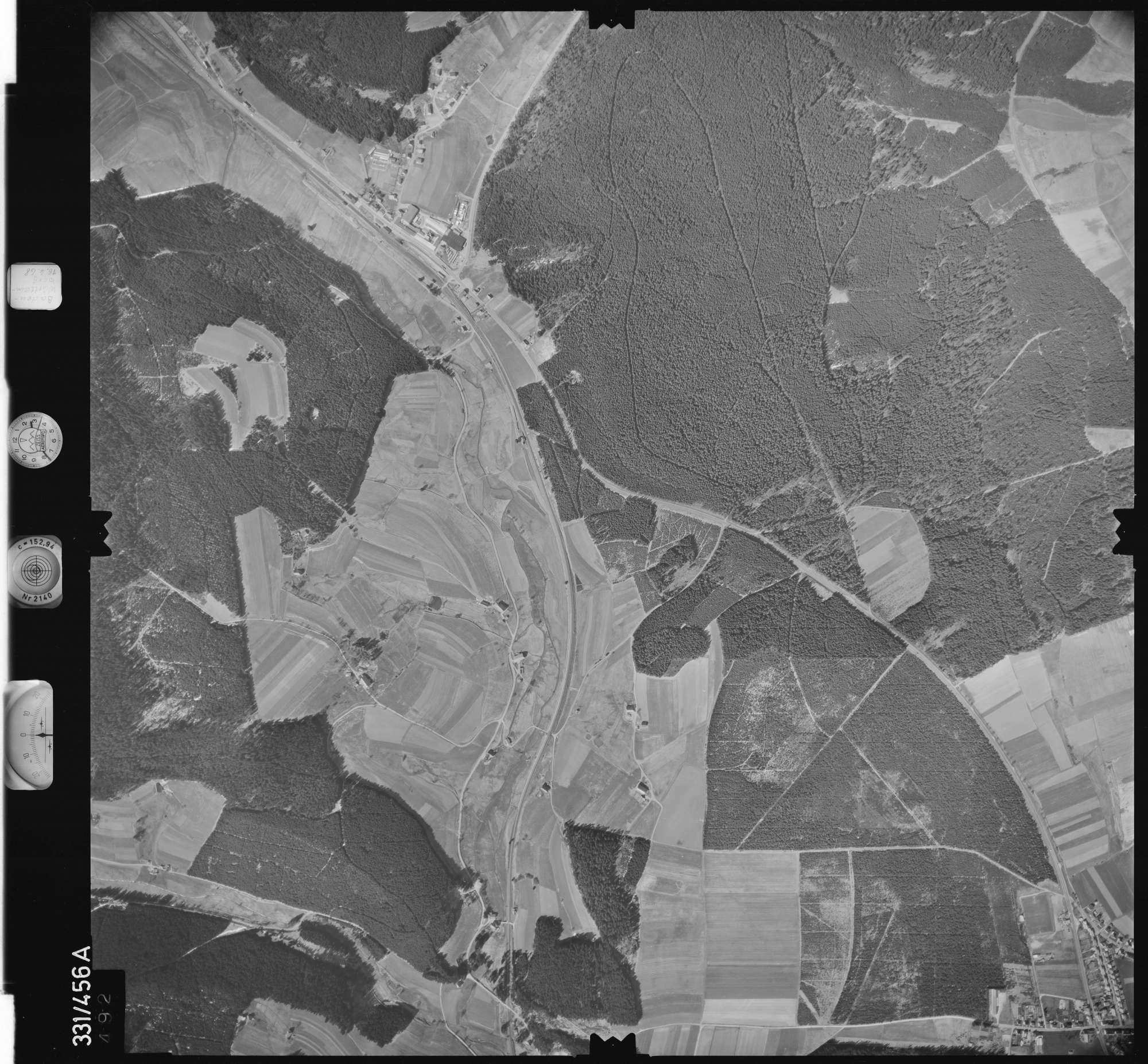 Luftbild: Film 89 Bildnr. 492, Bild 1