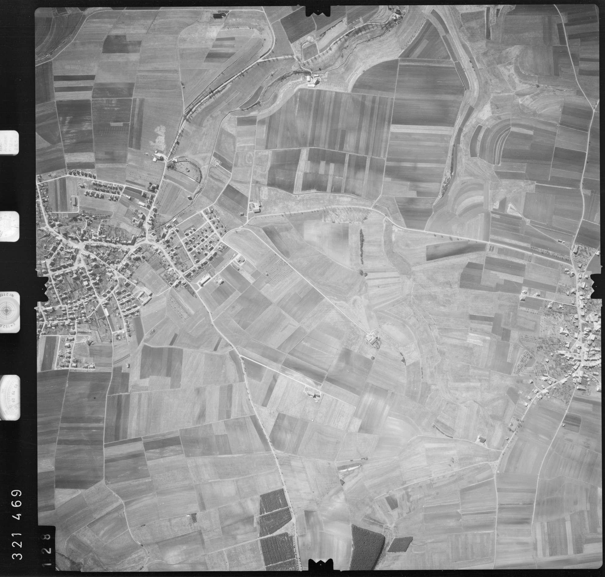 Luftbild: Film 53 Bildnr. 128, Bild 1