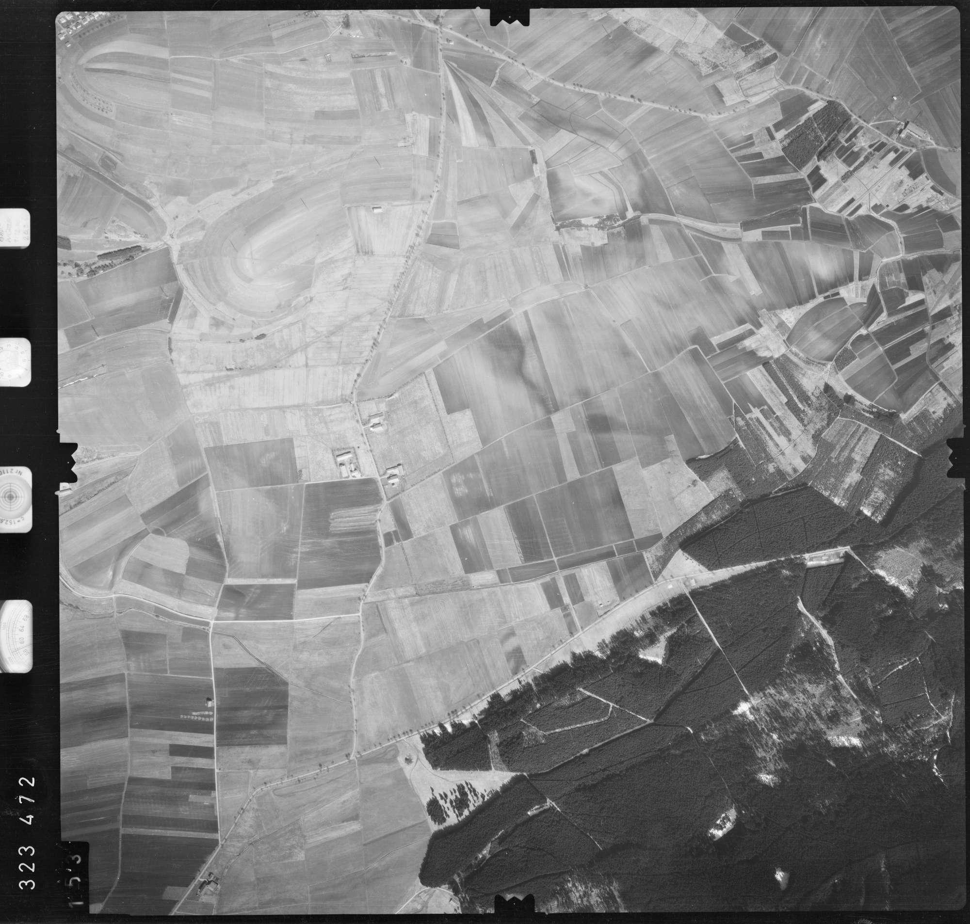 Luftbild: Film 53 Bildnr. 153, Bild 1
